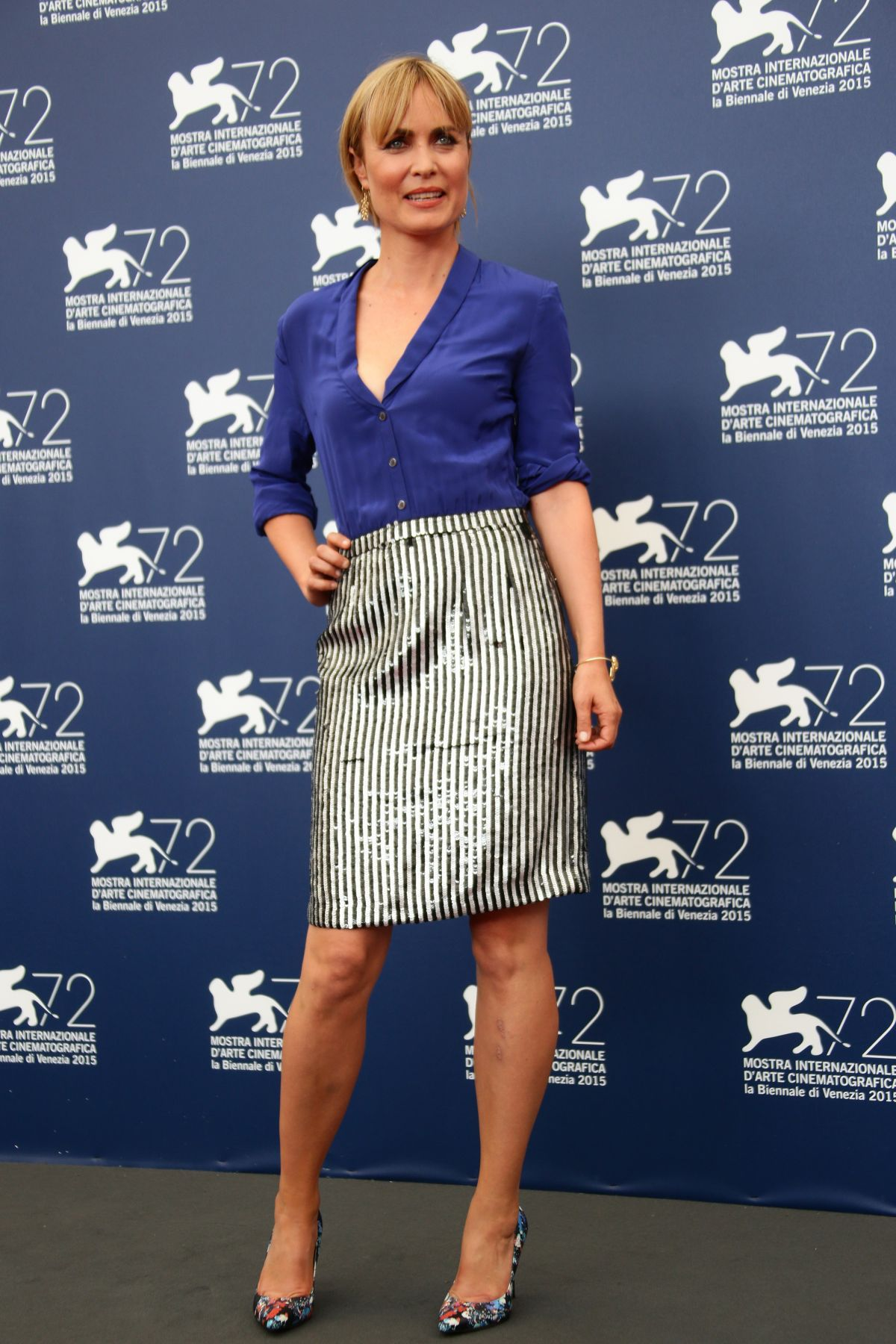 RADHA MITCHELL at Looking for Grace Photocall at 72nd Venice Film Festival 09/03/2015
