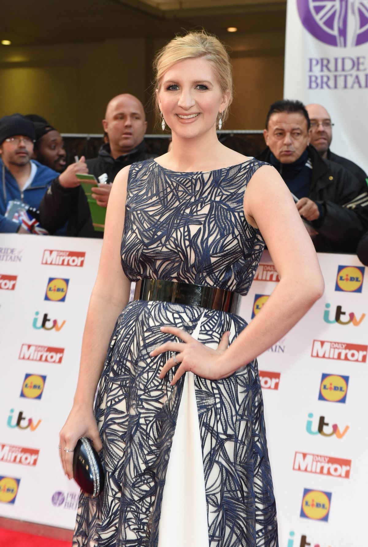 REBECCA ADLINGTON at Pride of Britain Awards 2015 in London 09/28/2015
