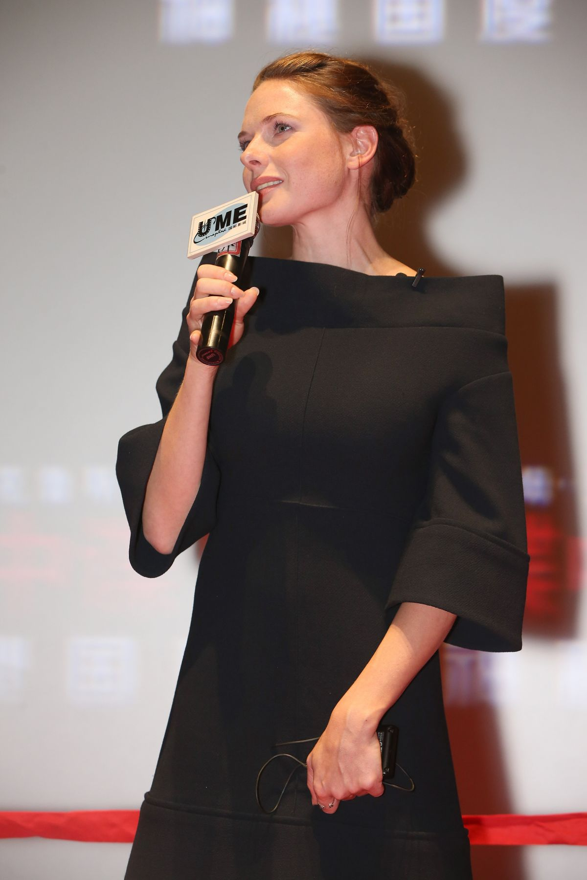 REBECCA FERGUSON at Mission: Impossible – Rogue Nation ...