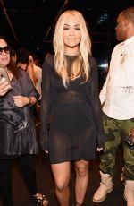 RITA ORA at Vera Wang Fashion Show at New York Fashion Week 09/15/2015