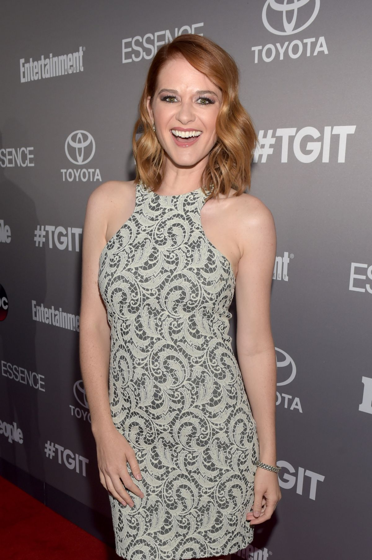 SARAH DREW at ABC's Tgit Line-up Celebration in West Hollywood 09/26/2015