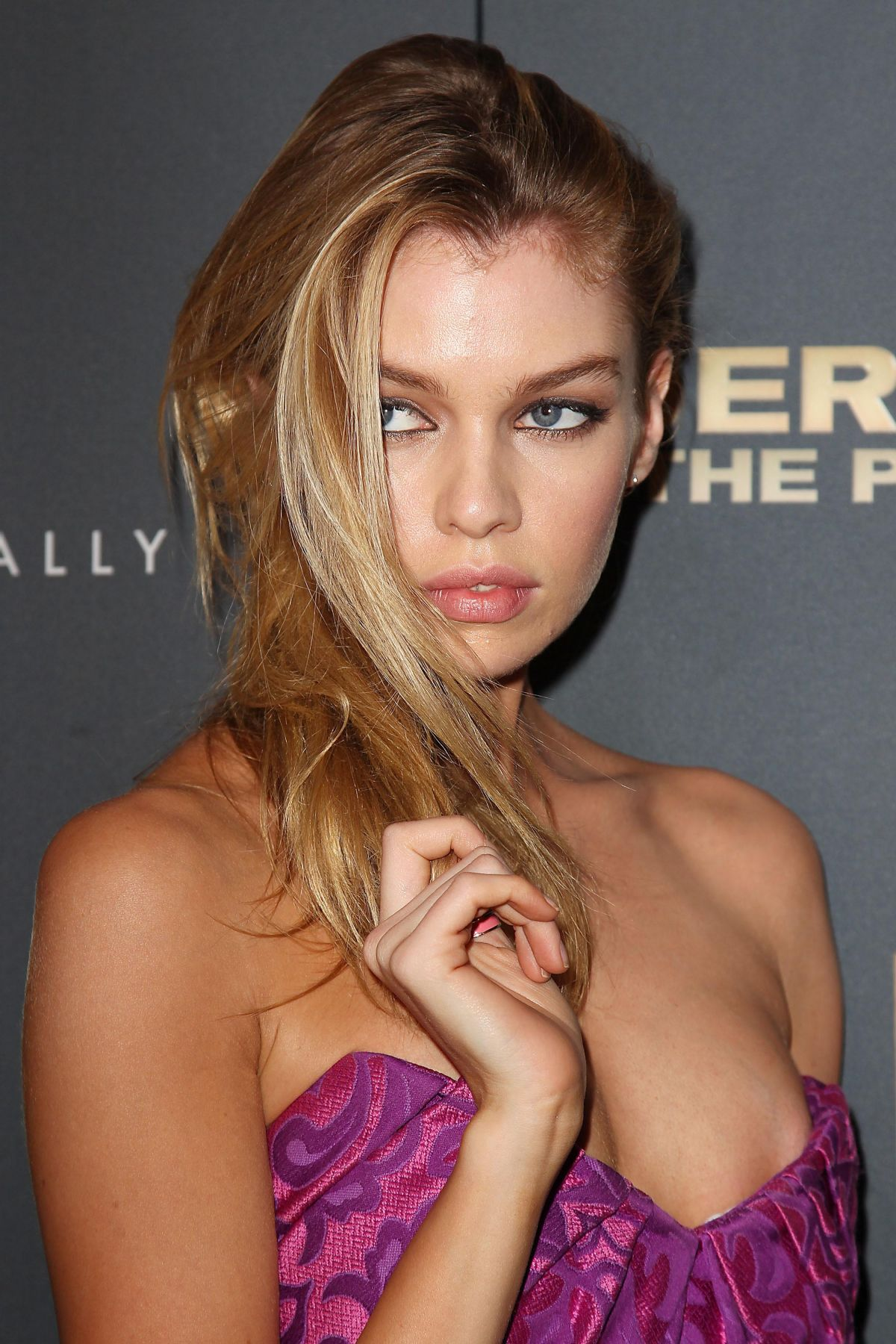 STELLA MAXWELL at Jeremy Scott: The People's Designer Premiere in ...