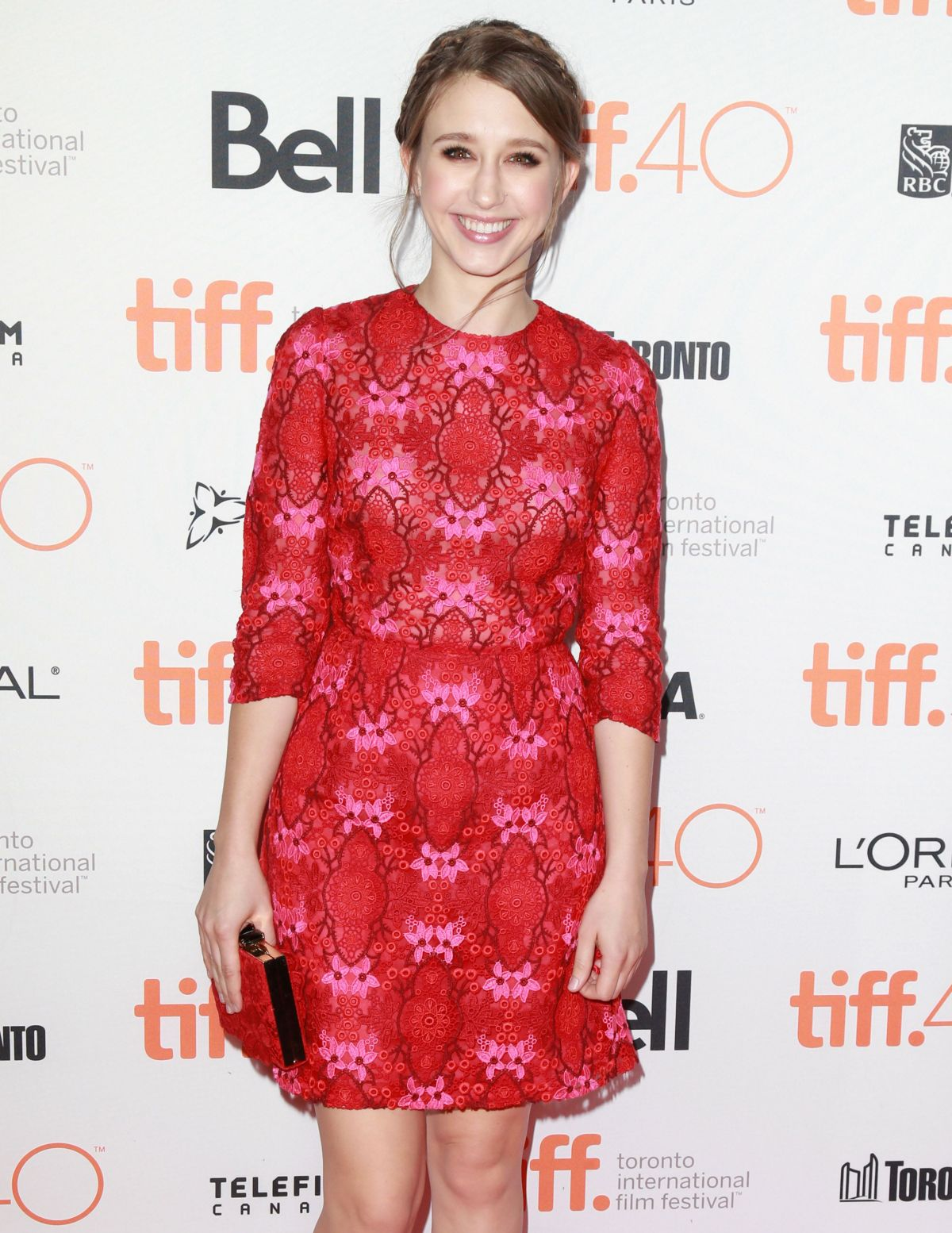 TAISSA FARMIGA at The Final Girls Party at 2015 TIFF 09/19/2015