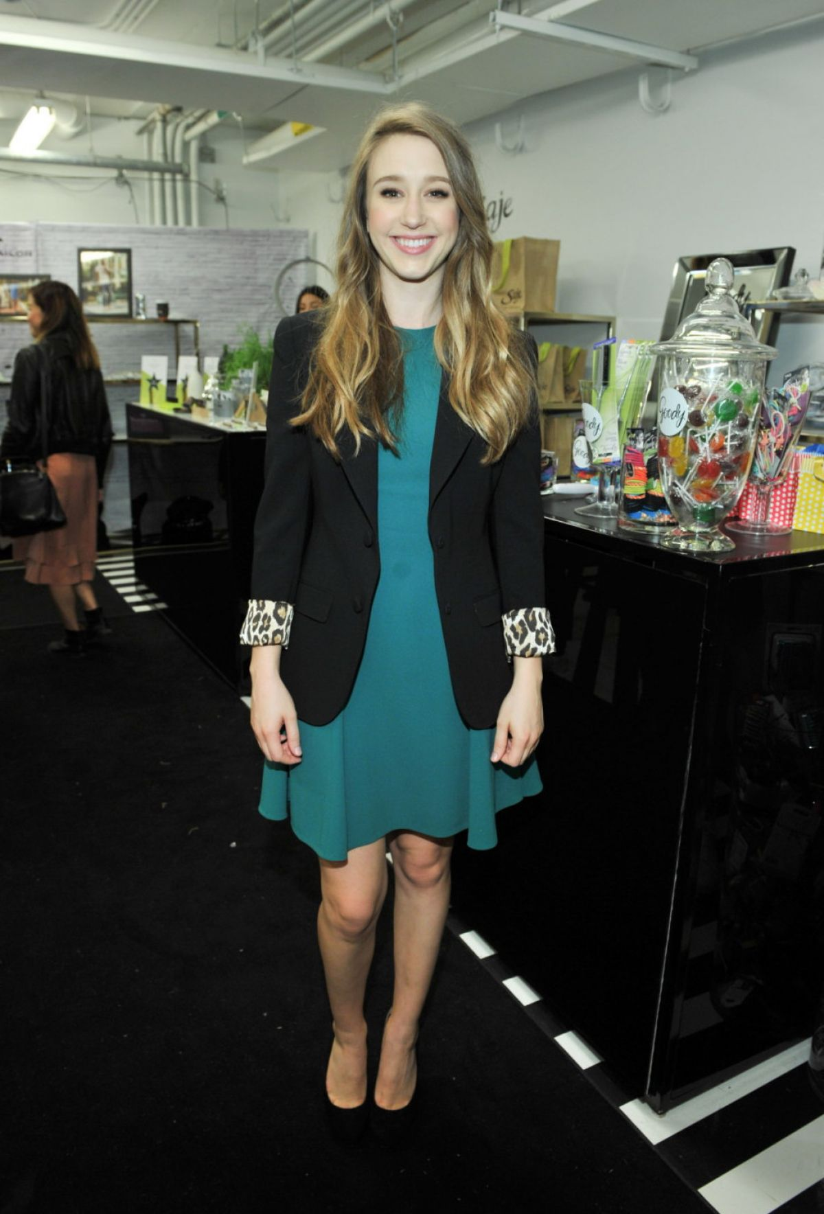 TAISSA FARMIGA at W Magazine nkpr it Lounge Studio at 2015 TIFF 09/19/2015