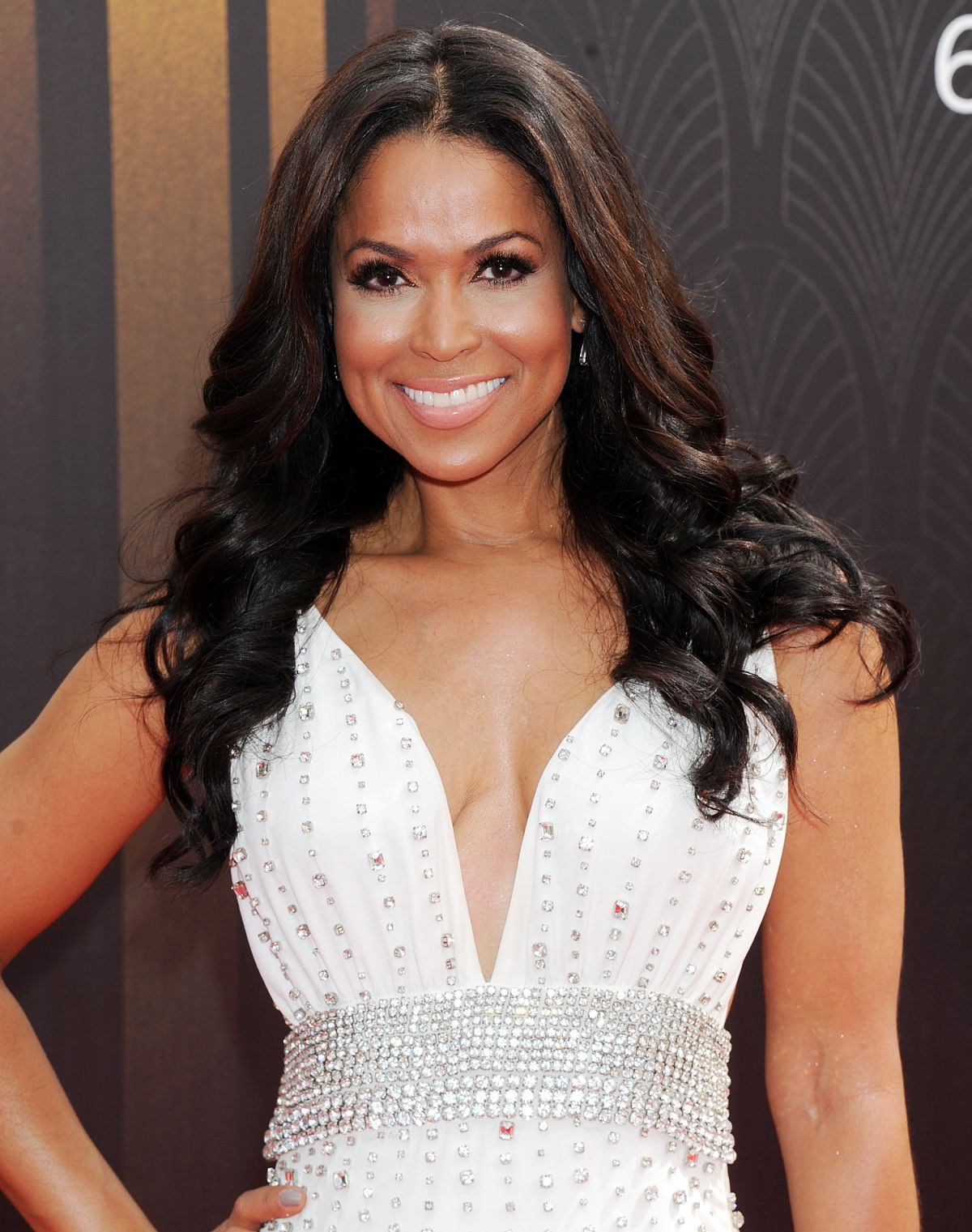 TRACEY EDMONDS at 2015 Emmy Awards in Los Angeles 09/20/2015