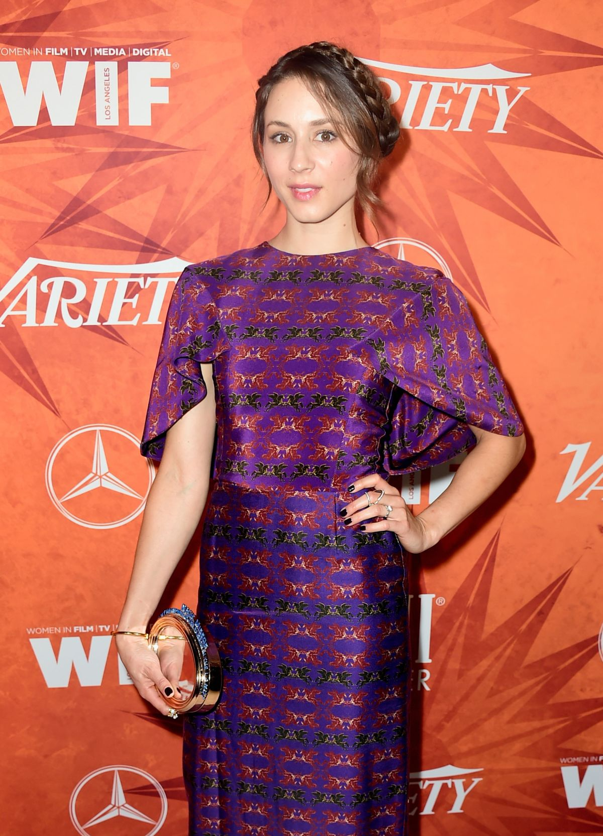 TROIAN BELLISARIO at Variety and Women in Film Annual Pre ...