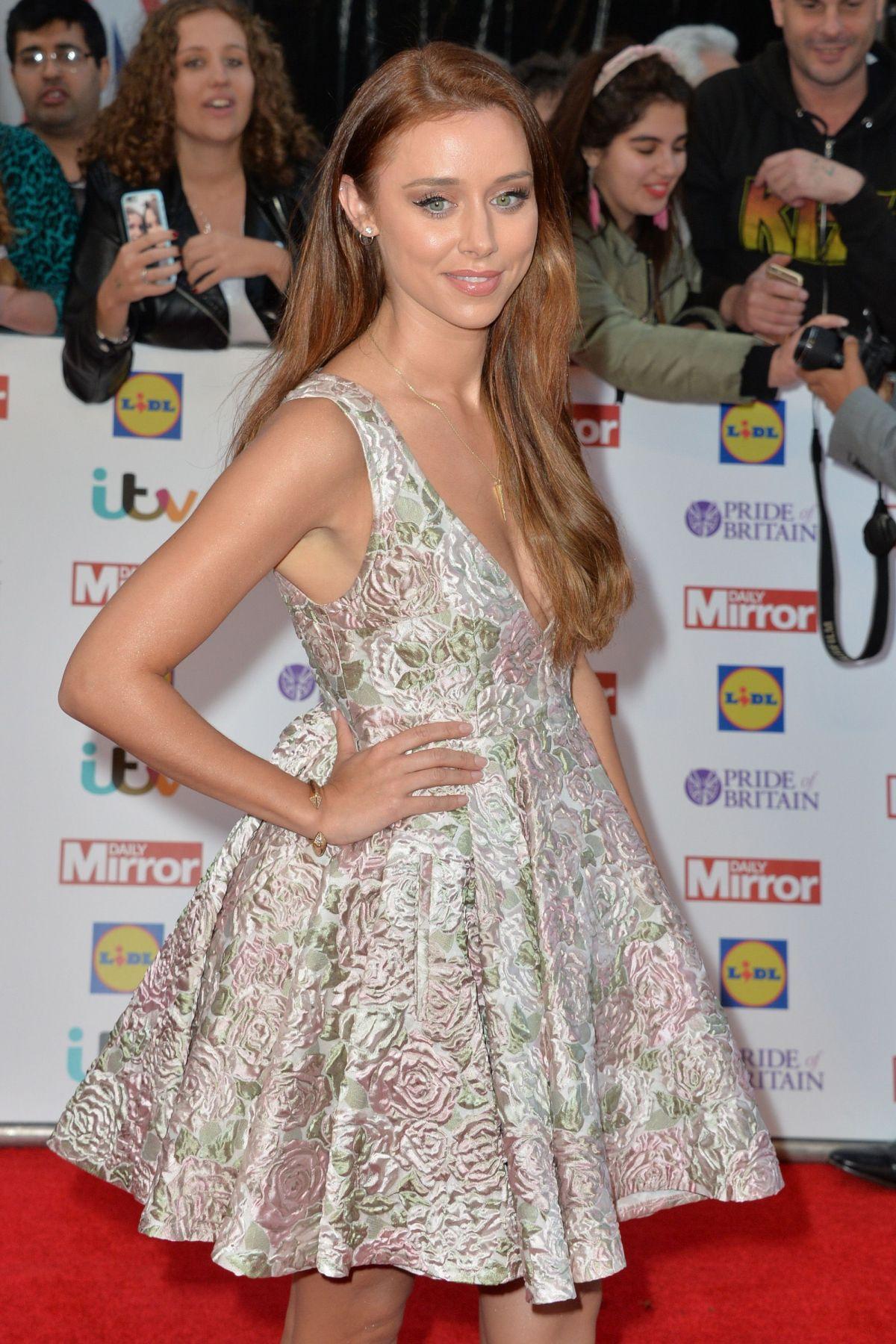 UNA FODEN at Pride of Britain Awards 2015 in London 09/28/2015