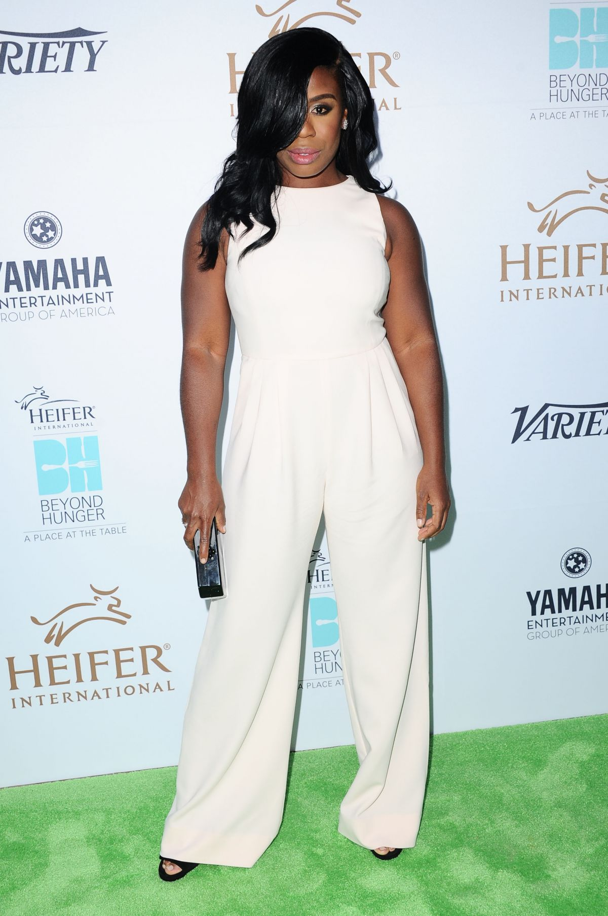 UZO ADUBA at Heifer International's 4th Annual Beyon Hunger Gala 09/18/2015