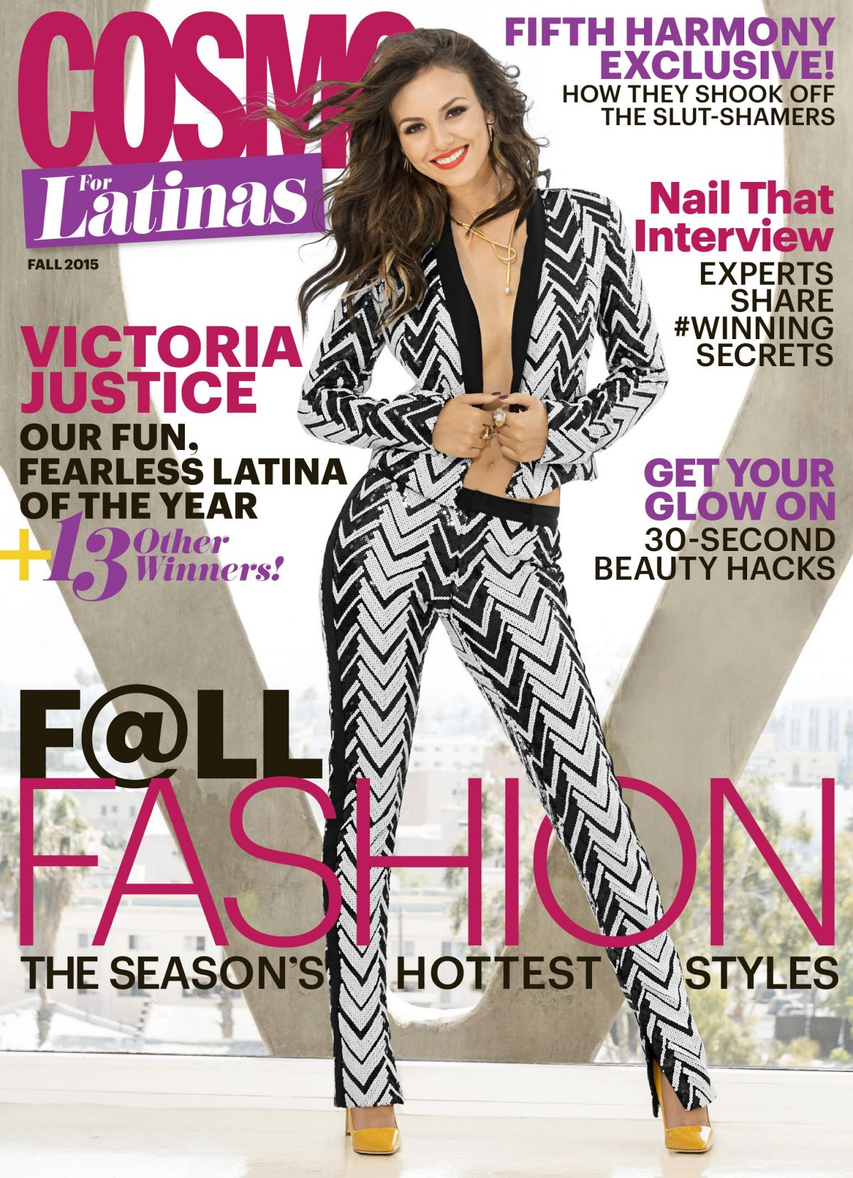 VICTORIA JUSTICE in Cosmo for Latinas Magazine, Ffall 2015 Issue ...