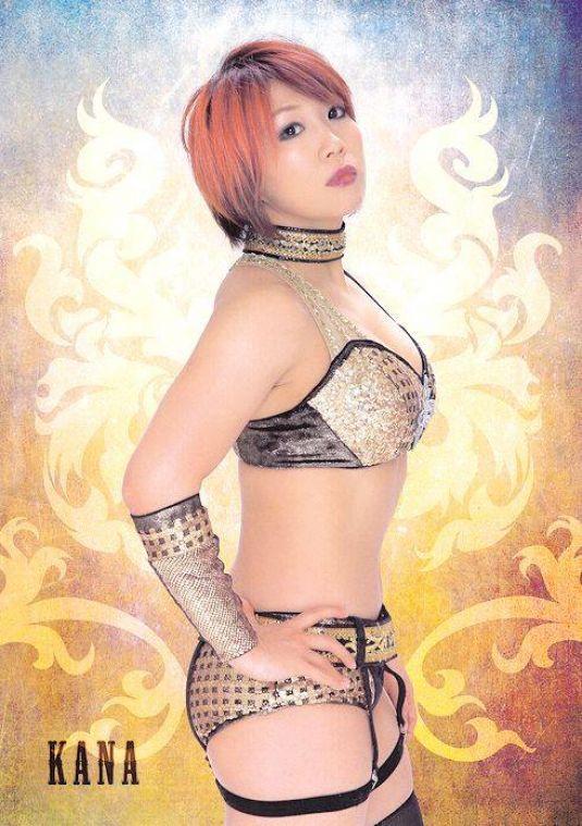WWE - New NXT Diva ASUKA (Kana) - HawtCelebs