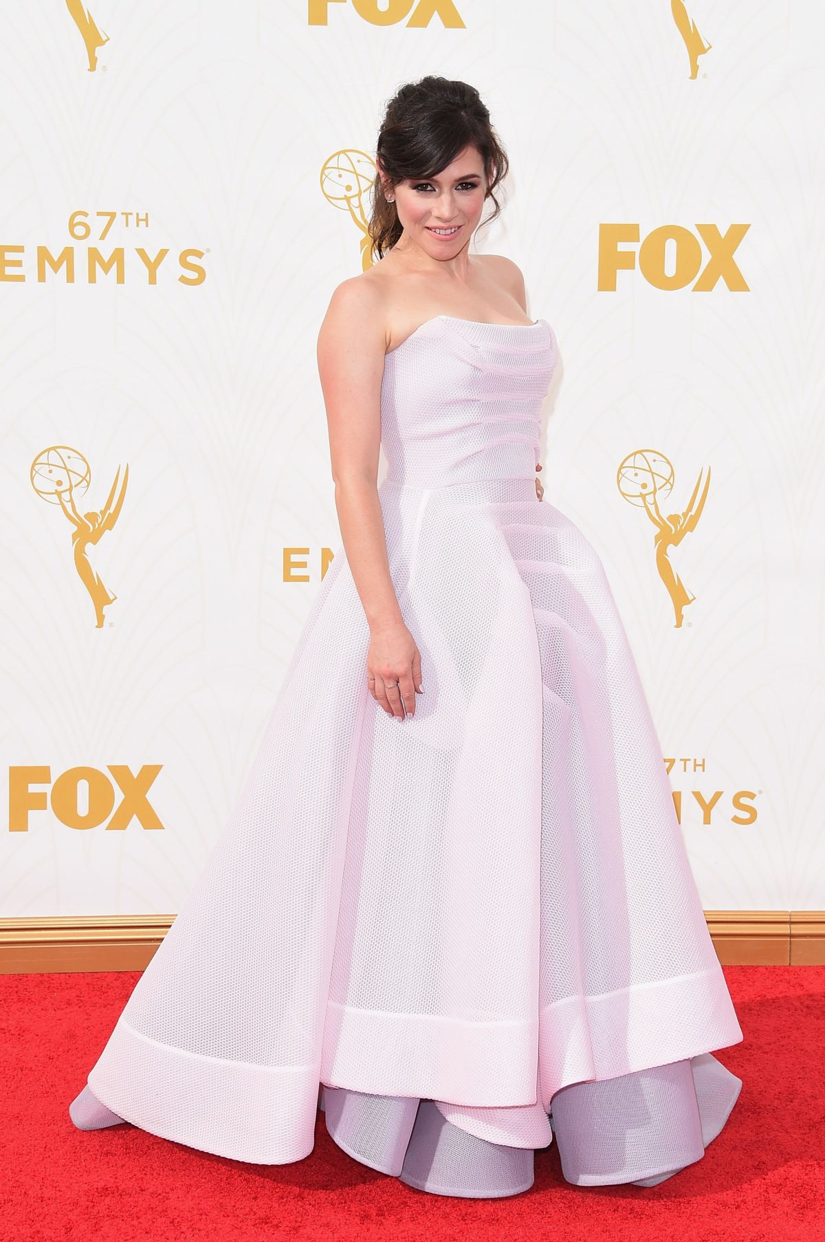 YAEL STONE at 2015 Emmy Awards in Los Angeles 09/20/2015