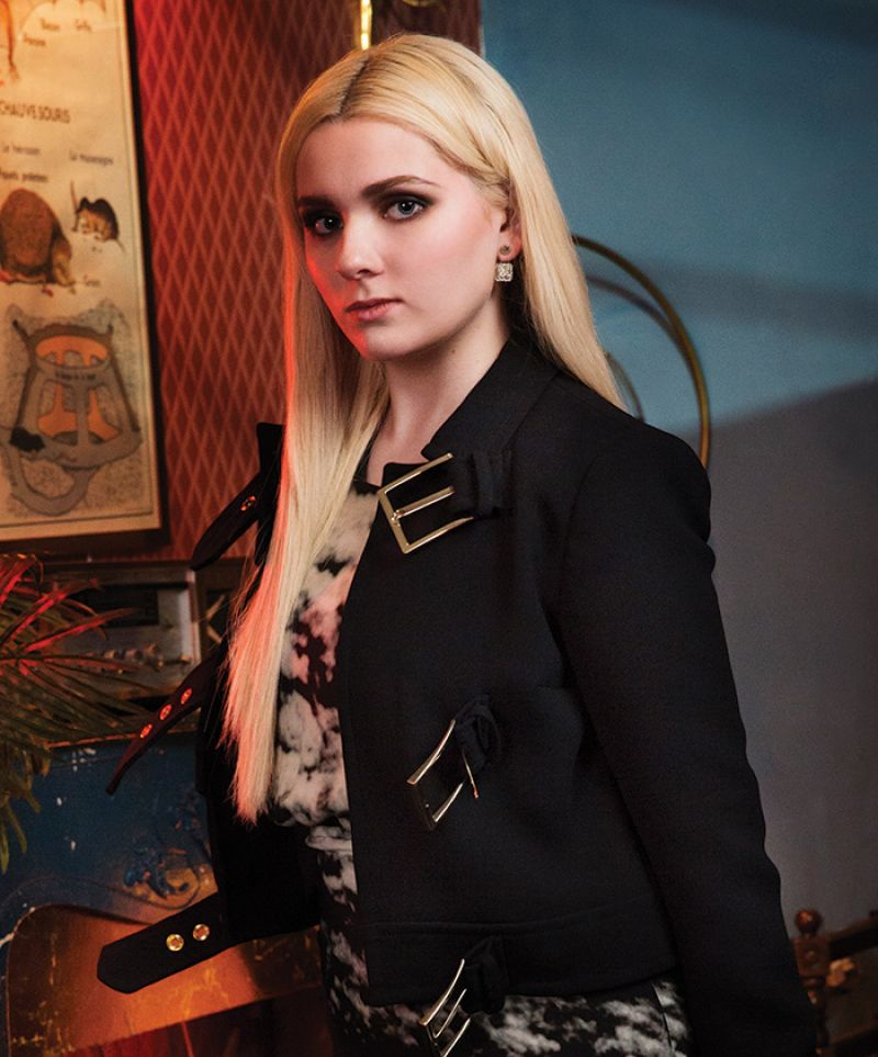 ABIGAIL BRESLIN in Bbust Magazine, October/November 2015 Issue