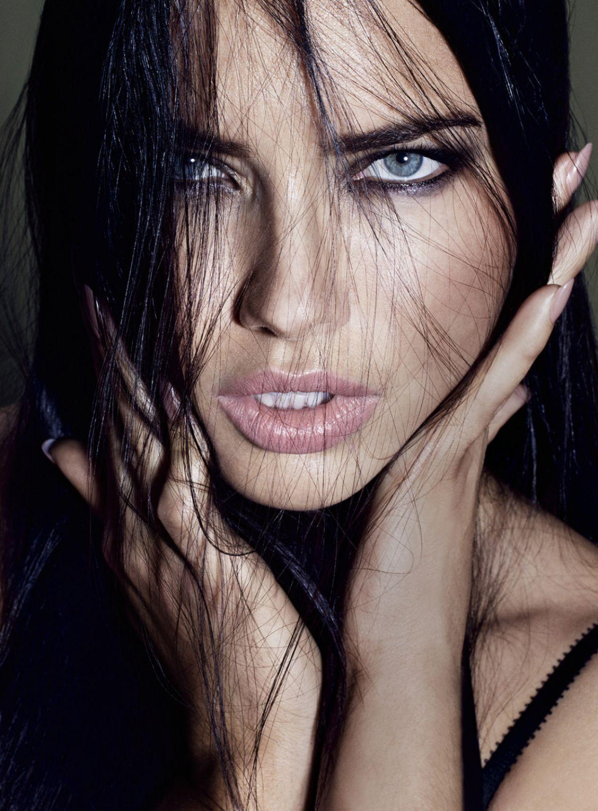 ADRIANA LIMA in Elle Magazine, October 2015 Issue - HawtCelebs ...