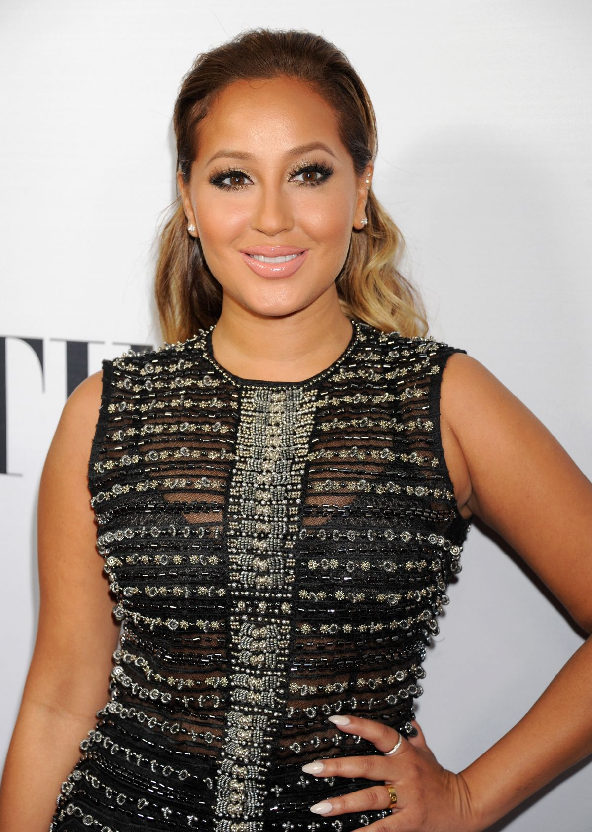 ADRIENNE BAILON at Latina Hot List Party in West Hollywood 10/06/2015