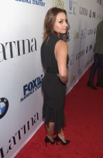 AIMEE CARRERO at Latina Hot List Party in West Hollywood 10/06/2015