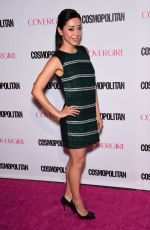 AIMEE GARCIA at Cosmopolitan's 50th Birthday Celebration in West Hollywood 10/12/2015
