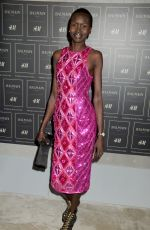 ALEK WEK at Balmain X H&M Collection Launch in New York 10/20/2015