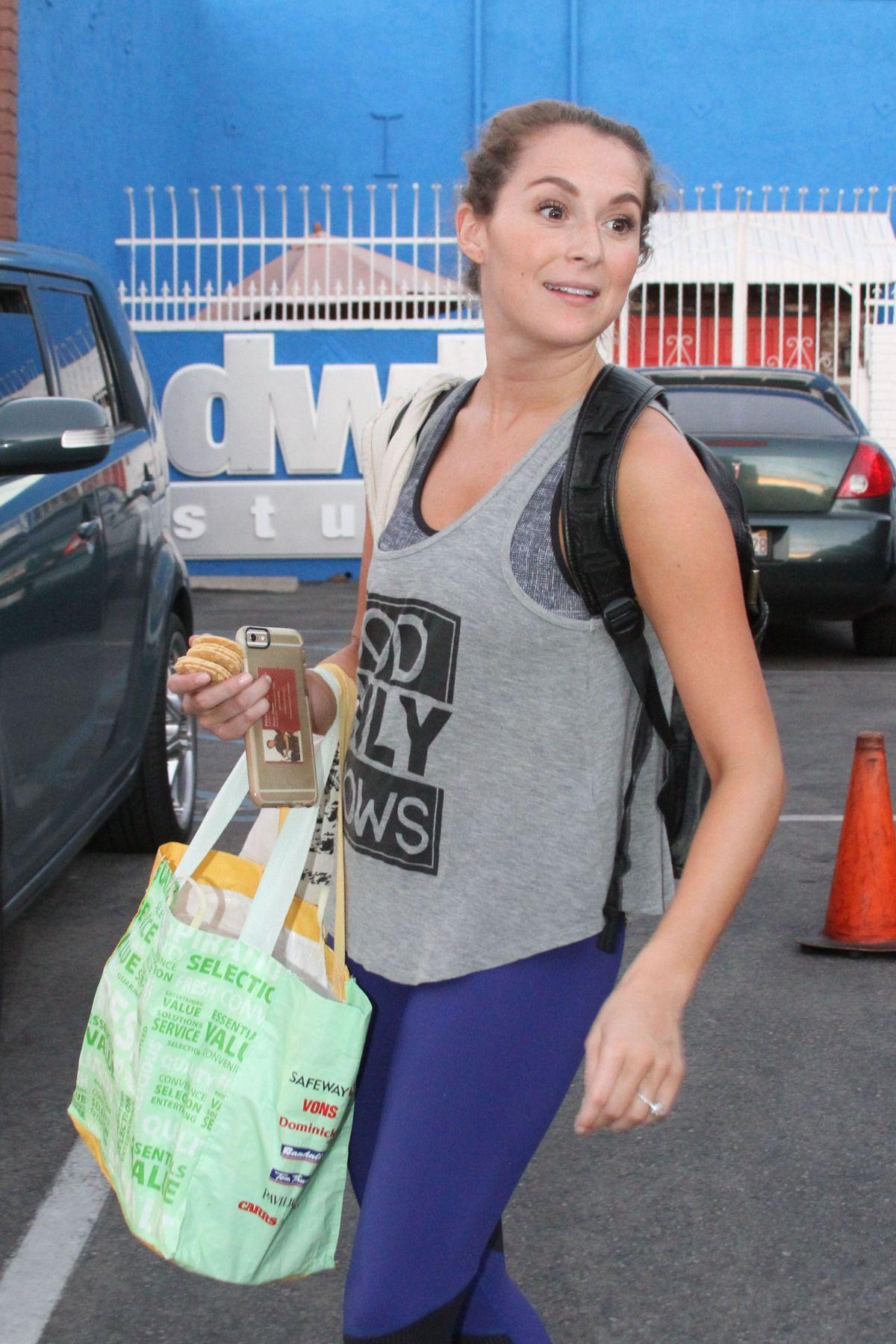 ALEXA VEGA Arrives at DWTS Studio in Hollywood 10/09/2015
