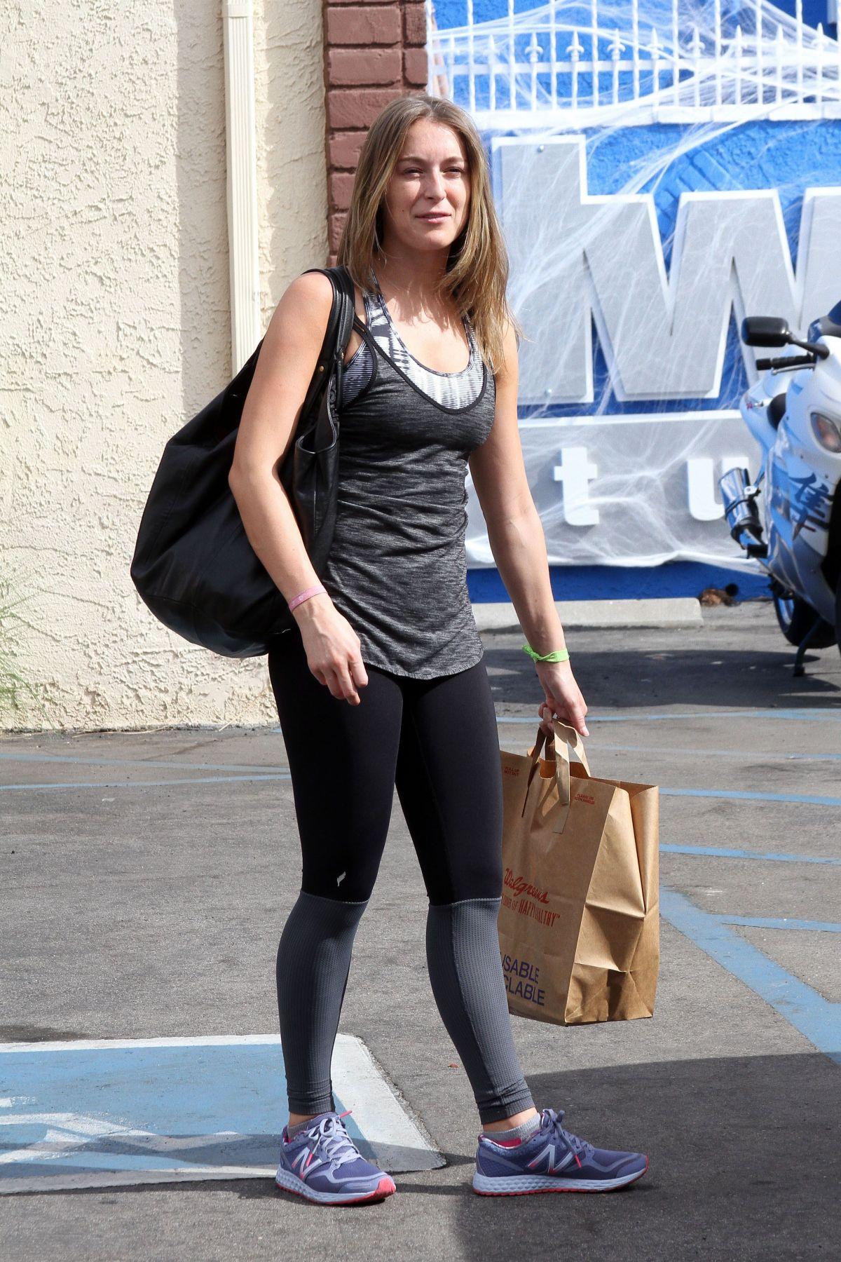 ALEXA VEGA Arrives at DWTS Studio in Hollywood 10/25/2015