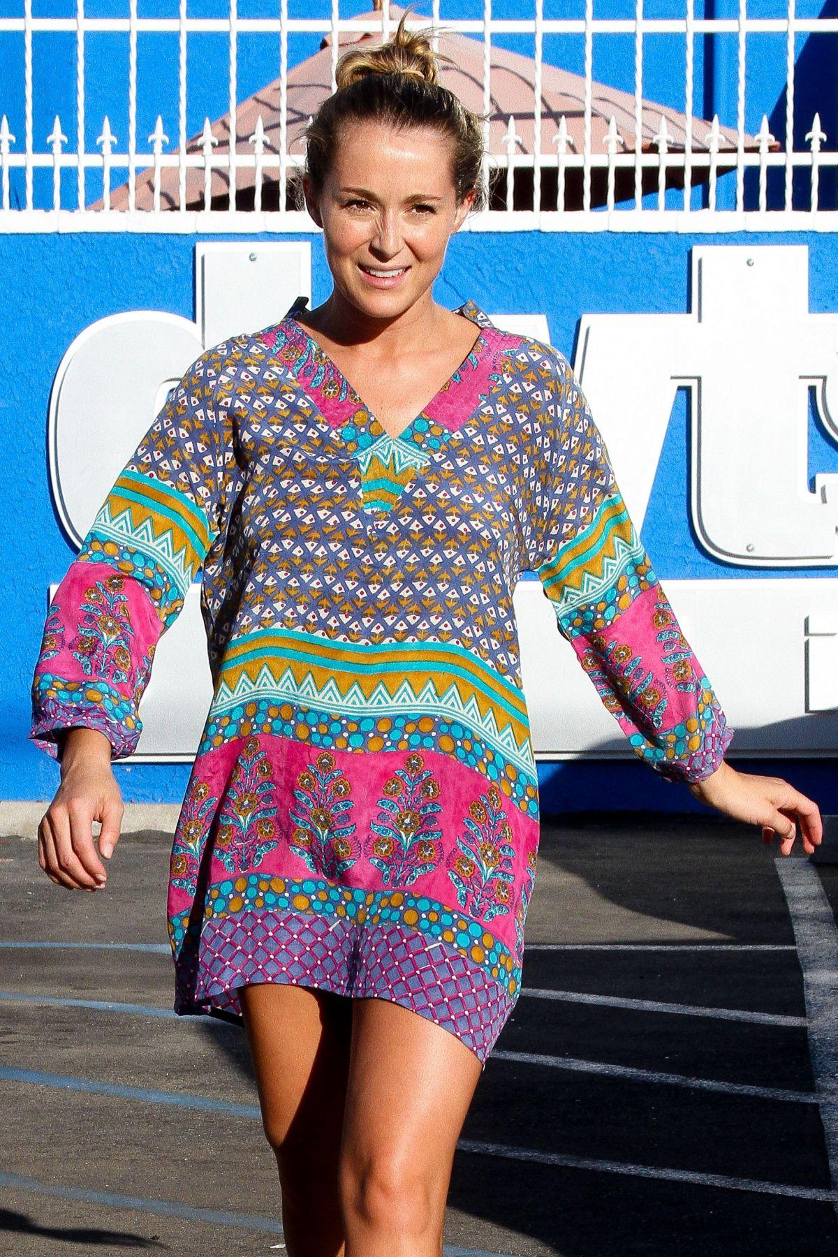 ALEXA VEGA at Dancing with the Stars Studio in Los Angeles 10/11/2015