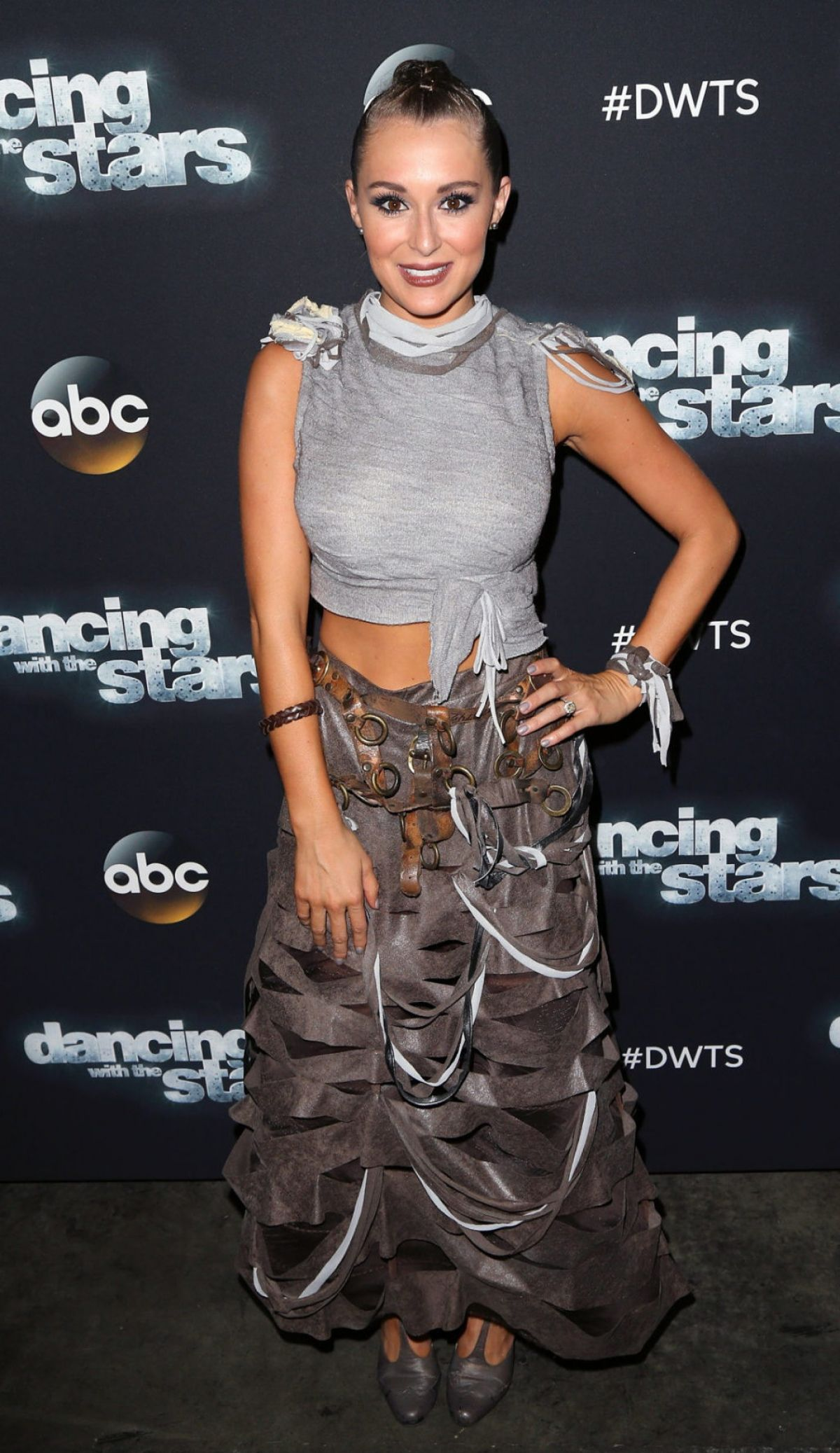 ALEXA VEGA at DWTS Photo-op at CBS Studios in Los Angeles 10/12/2015