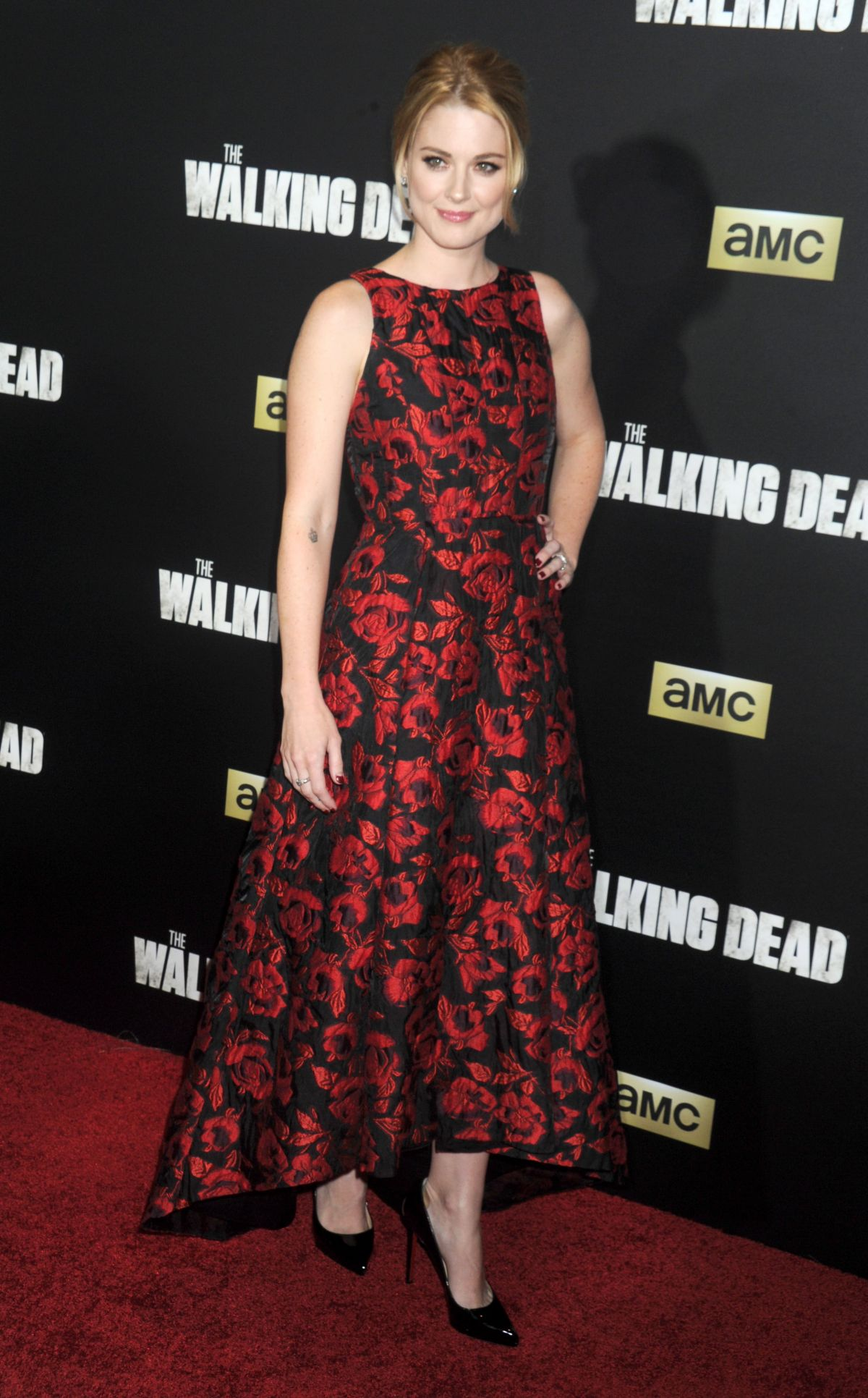 ALEXANDRA BRECKENRIDGE at The Walking Dead Seson 6 Premiere in New York 10/09/2015
