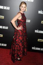 ALEXANDRA BRECKENRIDGE at The Walking Dead Seson 6 Premiere in New York 10/09/2015