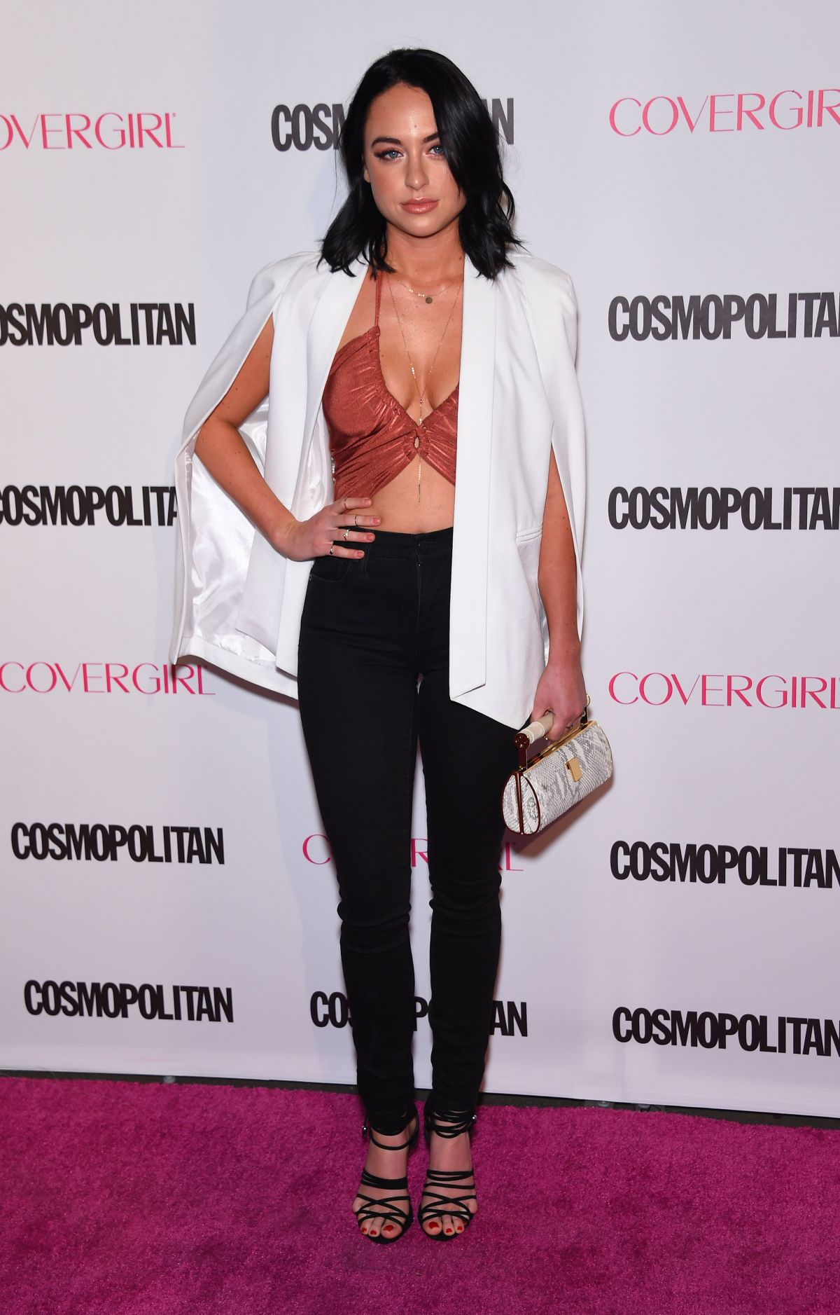 ALEXX MACK at Cosmopolitan's 50th Birthday Celebration in West Hollywood 10/12/2015