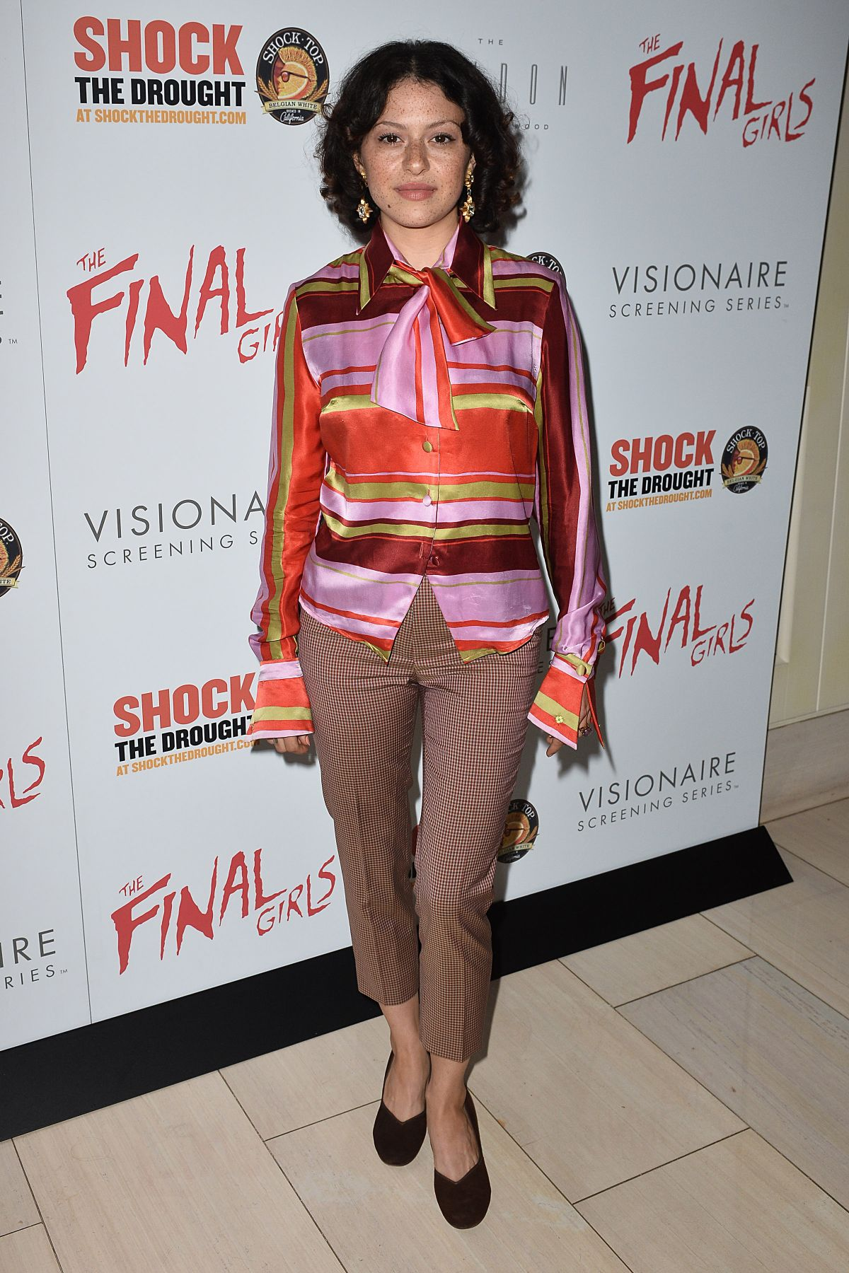 ALIA SHAWKAT at The Final Girls Screening in Los Angeles 10/06/2015