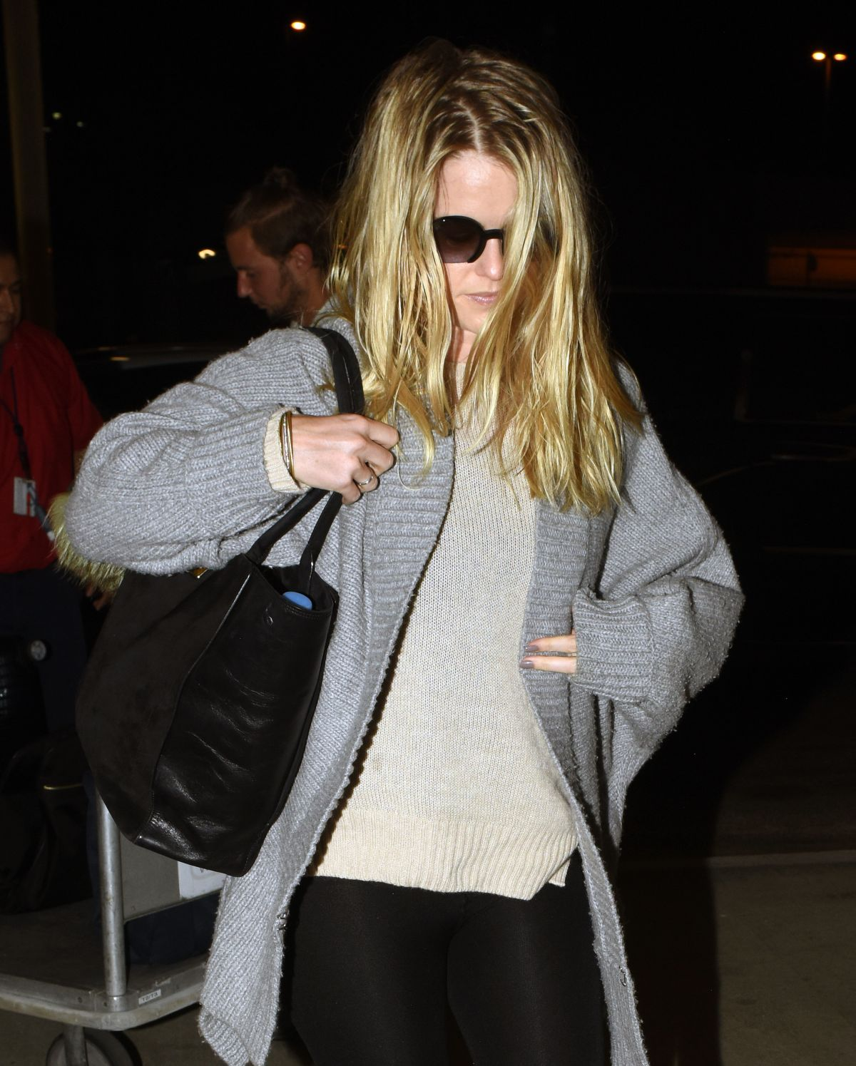 ALICE EVE at Los Angeles International Airport 10/06/2015