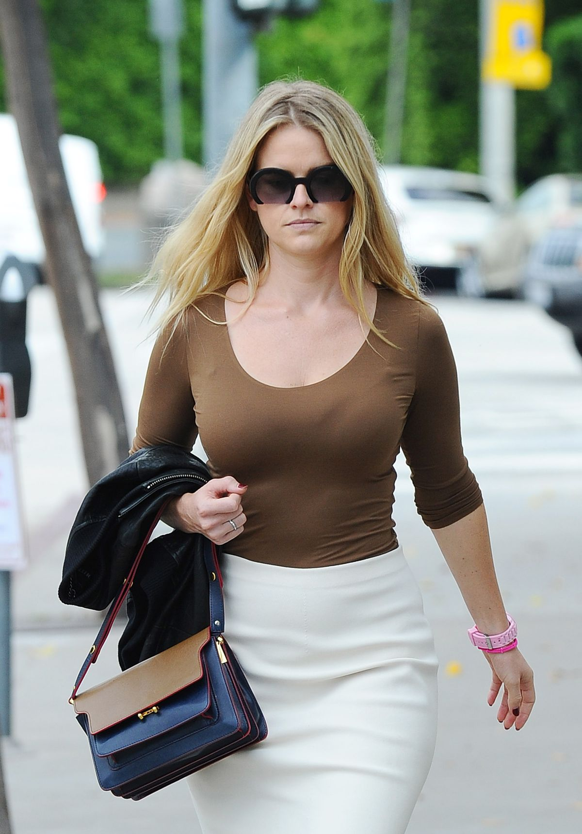 ALICE EVE Out and About Los Angeles 10/05/2015
