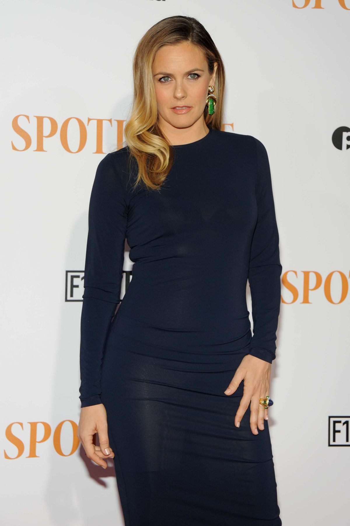 ALICIA SILVERSTONE at Spotlight Premiere in New York 10/27/2015