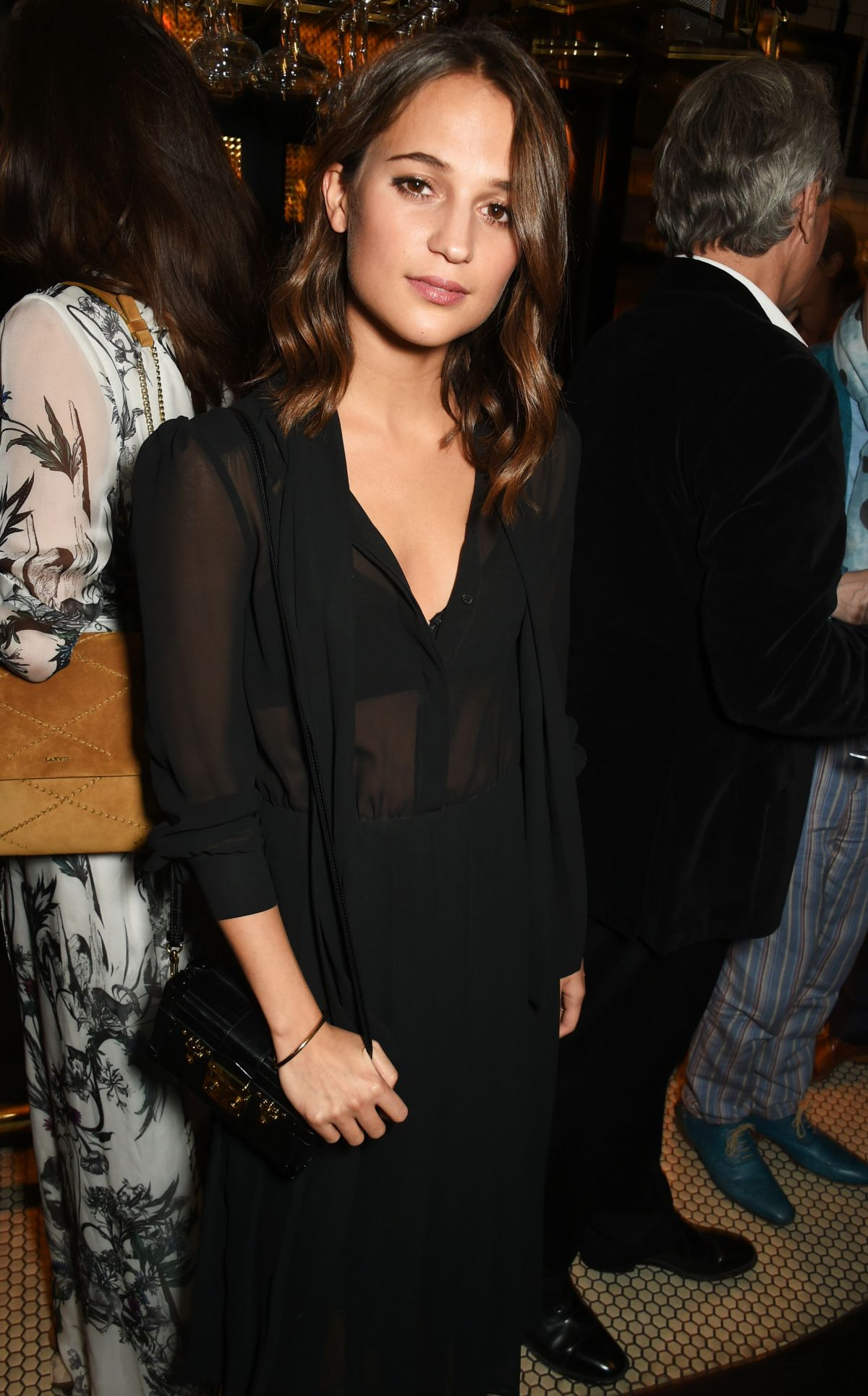 ALICIA VIKANDER at Burnt Afterparty at Tredwell