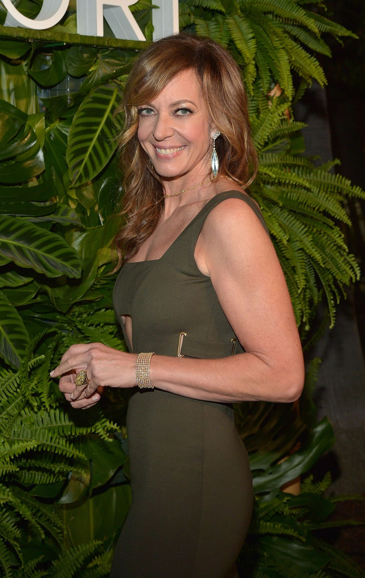 ALLISON JANNEY at Tacori Presents Riviera Event in Hollywood 10/06/2015