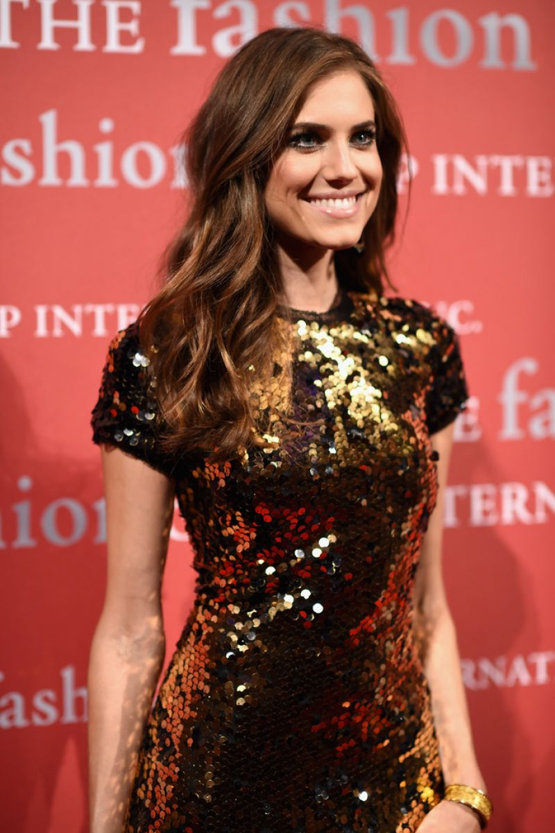 ALLISON WILLIAMS at 2015 Fashion Group International Night of Stars Gala in New York 10/22/2015