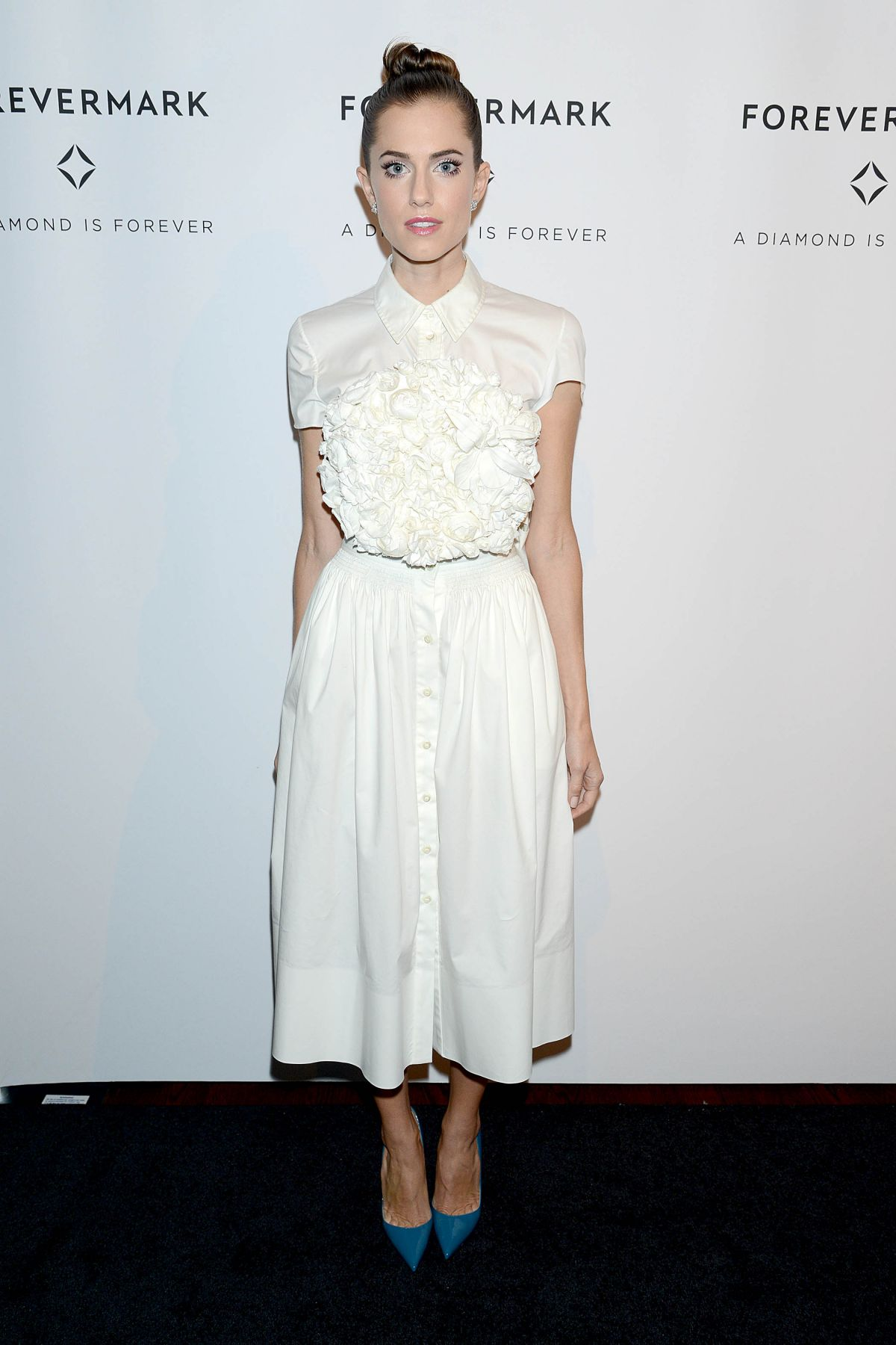 ALLISON WILLIAMS at A Diamond Is Forever Celebration in New York 10/28/2015