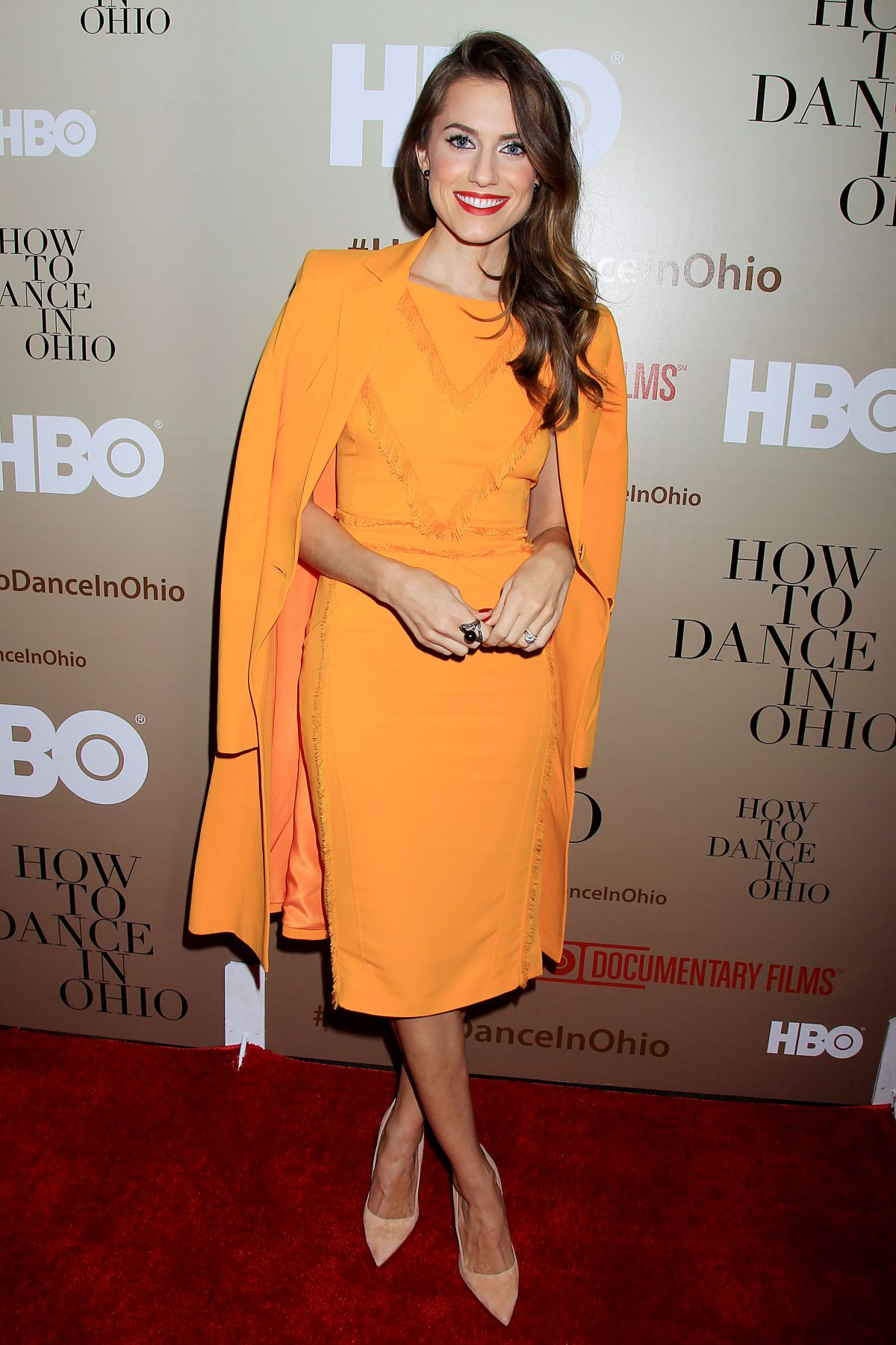 ALLISON WILLIAMS at How to Dance in Ohio Premiere in New York 10/19/2015