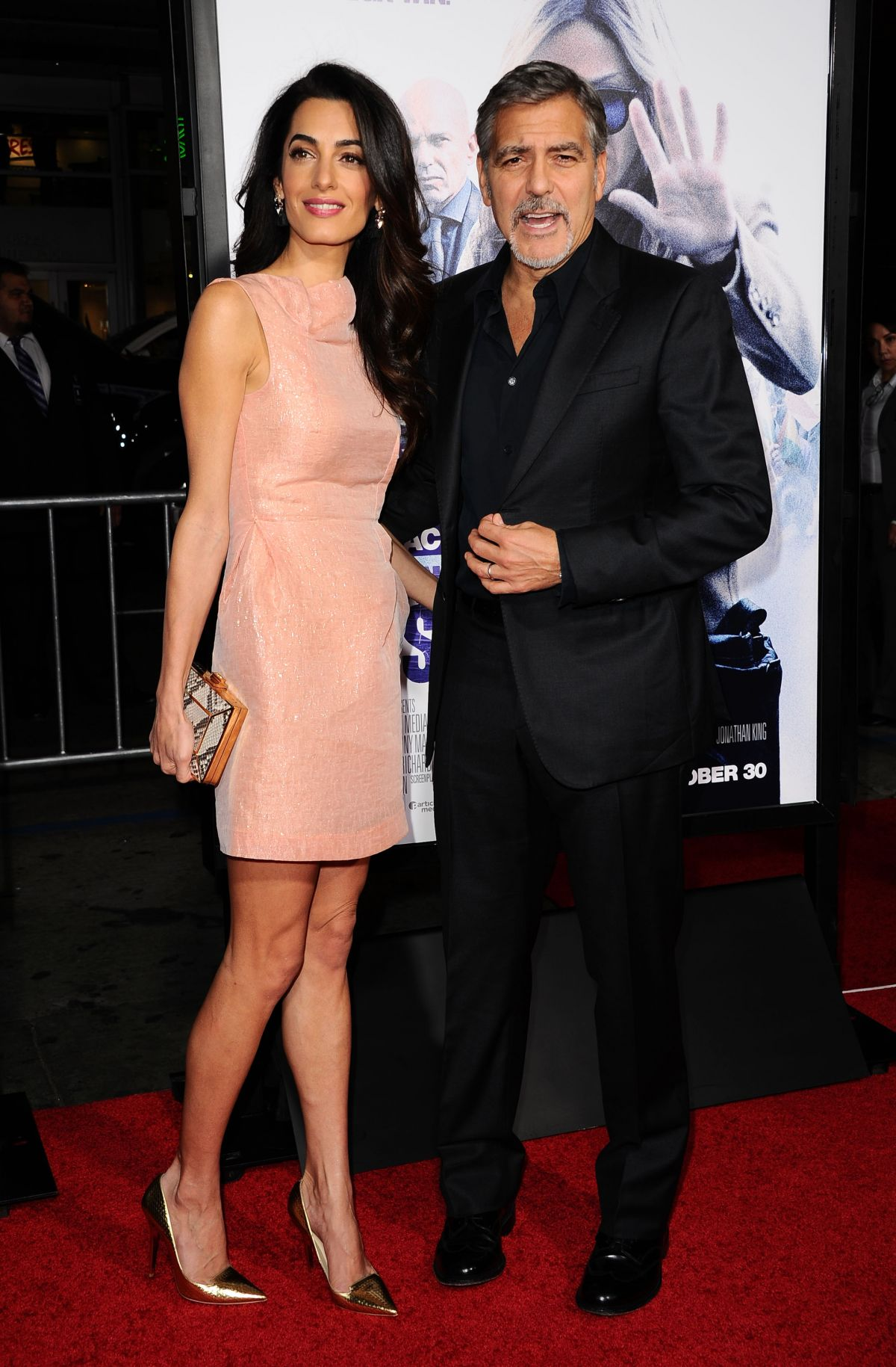 AMAL CLOONEY at Our Brand Is Crisis Premiere in Hollywood 10/26/2015