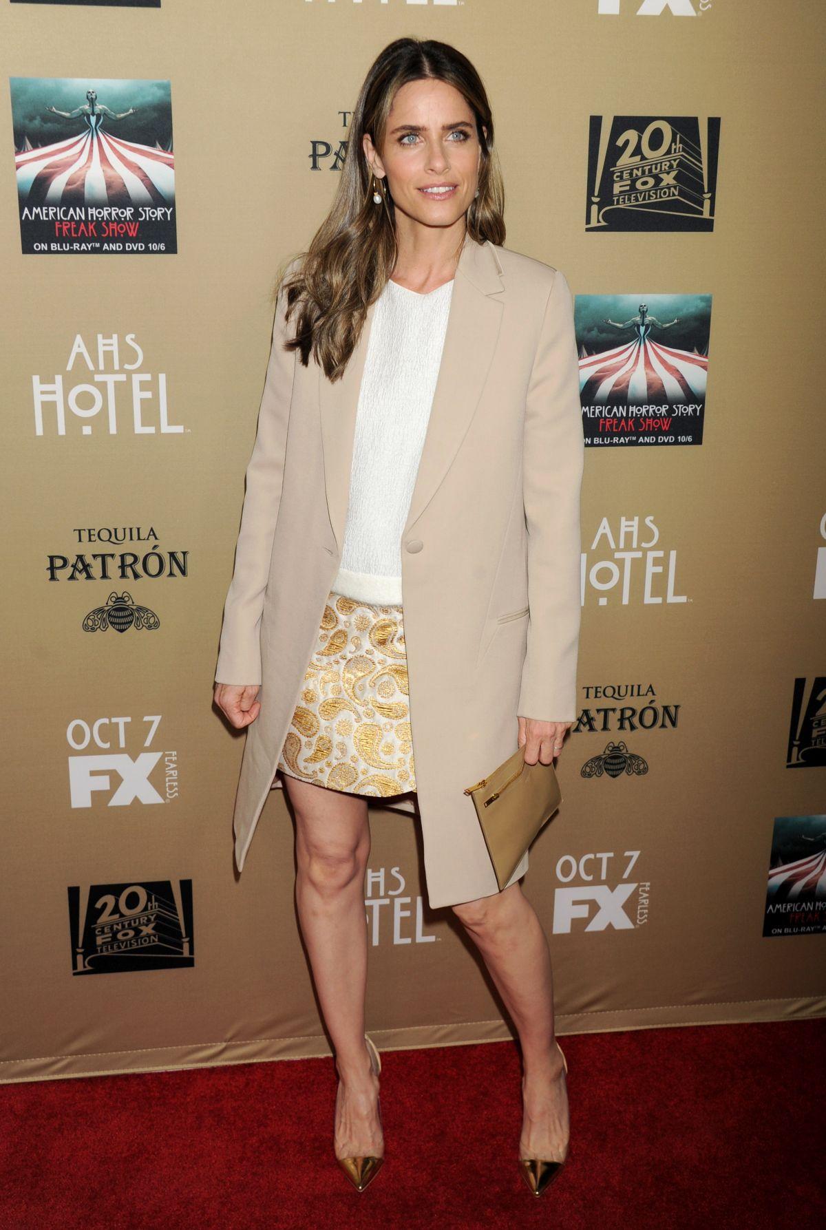 AMANDA PEET at American Horror Story: Hotel Screening in Los Angeles 10/03/2015