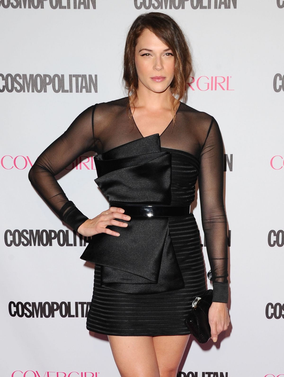 AMANDA RIGHETTI at Cosmopolitan's 50th Birthday Celebration in West Hollywood 10/12/2015