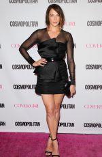 AMANDA RIGHETTI at Cosmopolitan's 50th Birthday Celebration in West Hollywood 10/12/2015