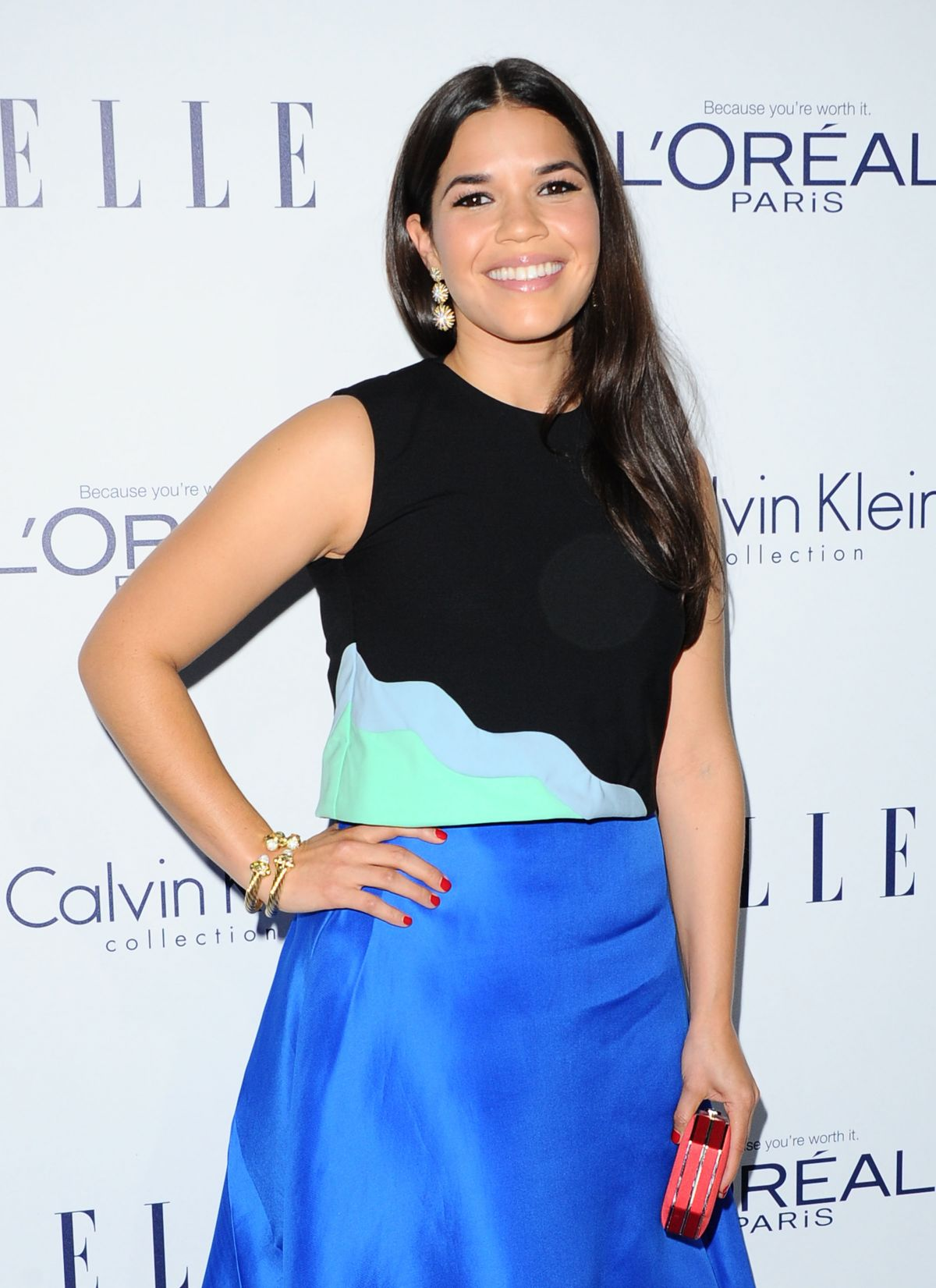 AMERICA FERRERA at 2015 Elle Women in Hollywood Awards in Los Angeles 10/19/2015