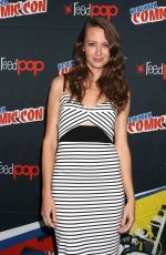 AMY ACKER at Person of Interest Panel at 2015 New York Comic-con 10/11/2015