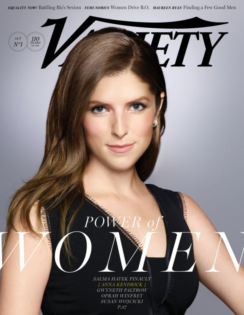 ANNA KENDRICK on the Cover of Variety Magazine