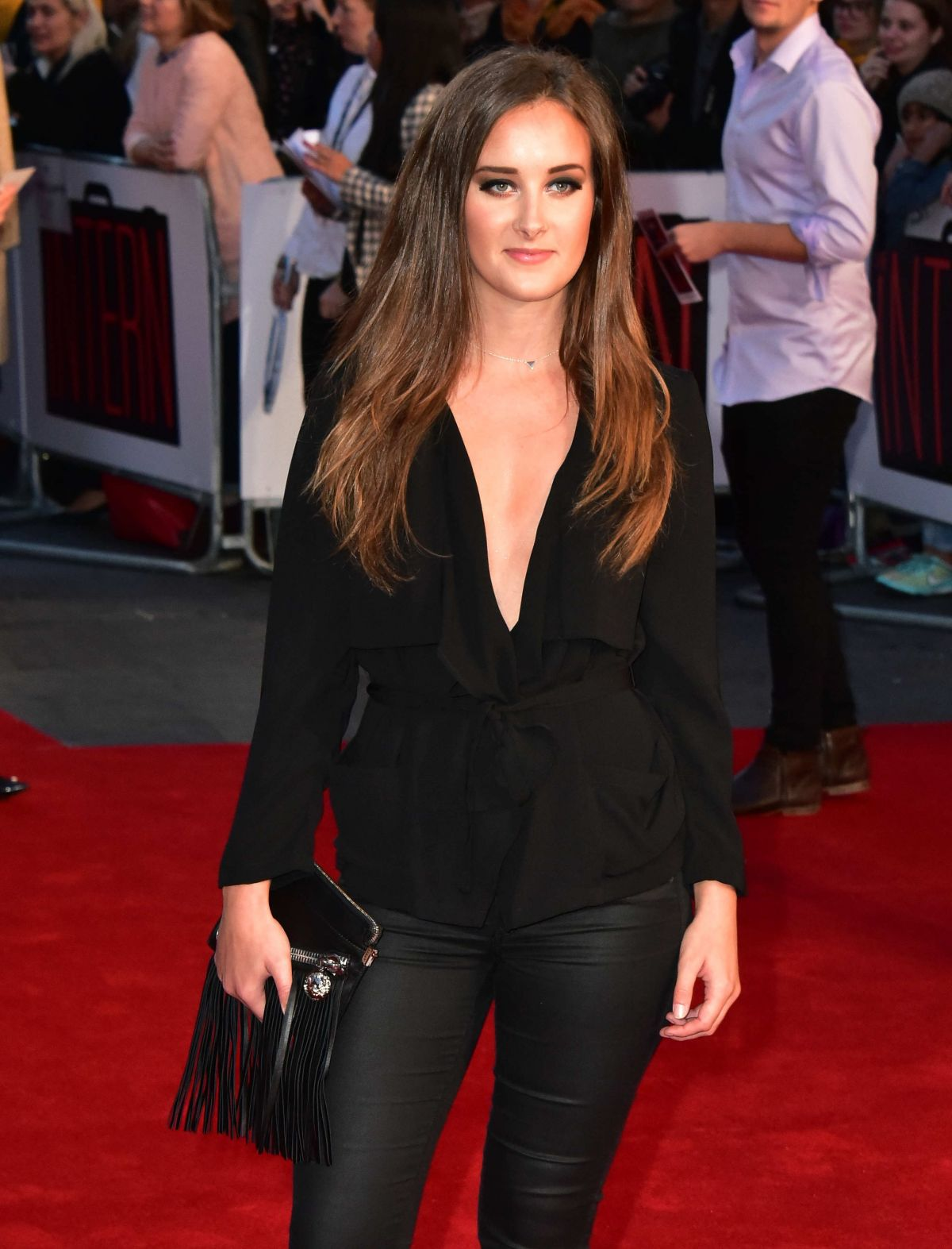 APRIL PEARSON at The Intern Premiere in London 09/27/2015