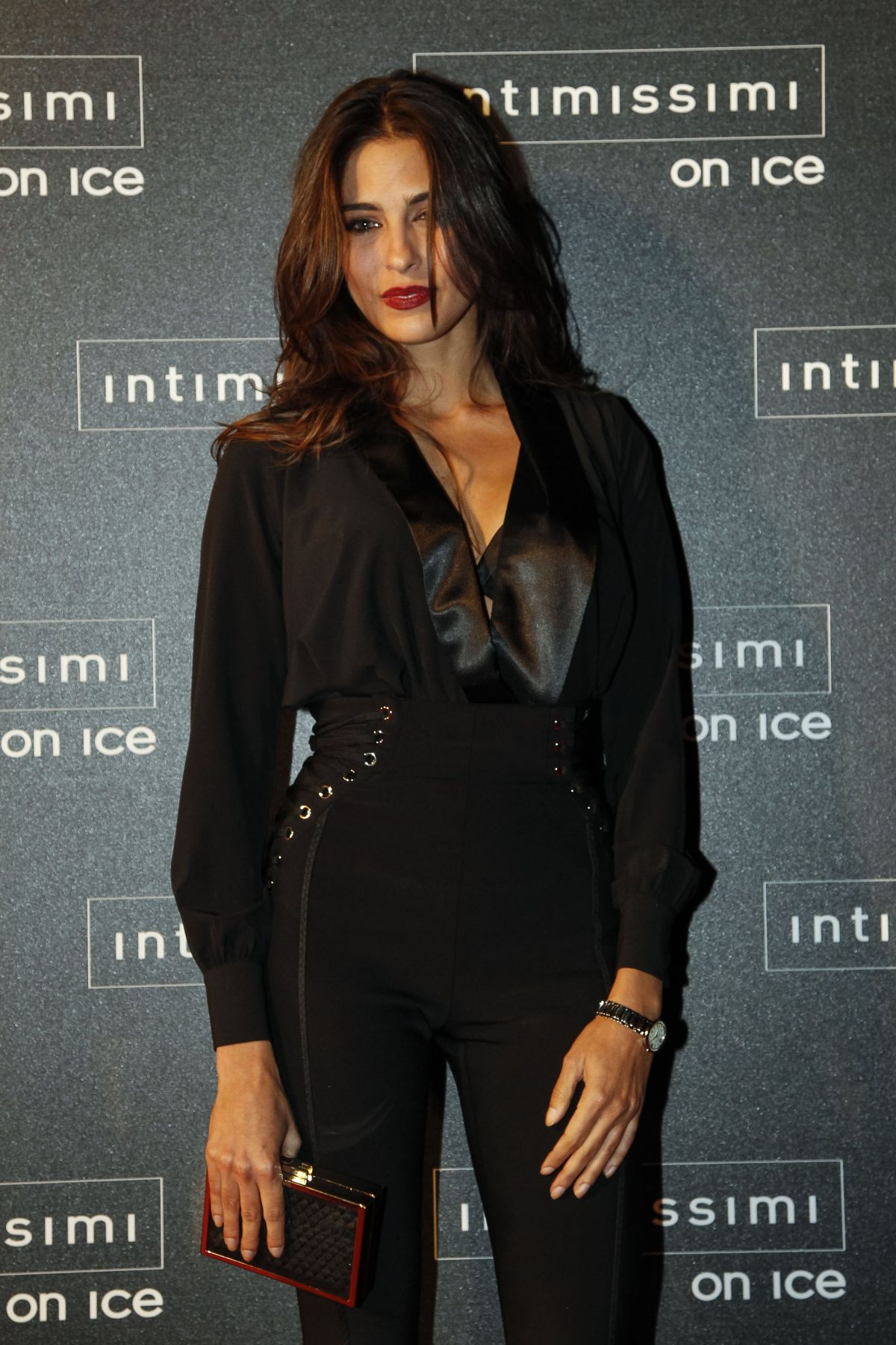 ARIADNA ROMERO at Intimissimi on Ice 2015 Gala in Verona 10/09/2015