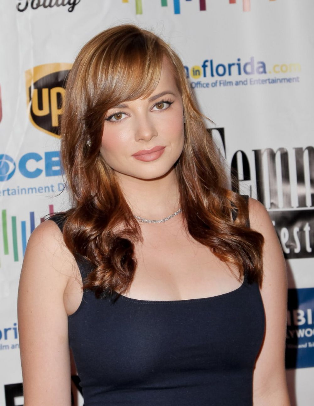 ASHLEY RICKARDS at 11th Annual LA Femme International Film Festival Awards Gala in Los Angeles 10/18/2015