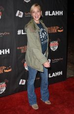 ASHLEY SCOTT at Los Angeles Haunted Hayride Black Carpet Premiere Night in Los Angeles 10/04/2015