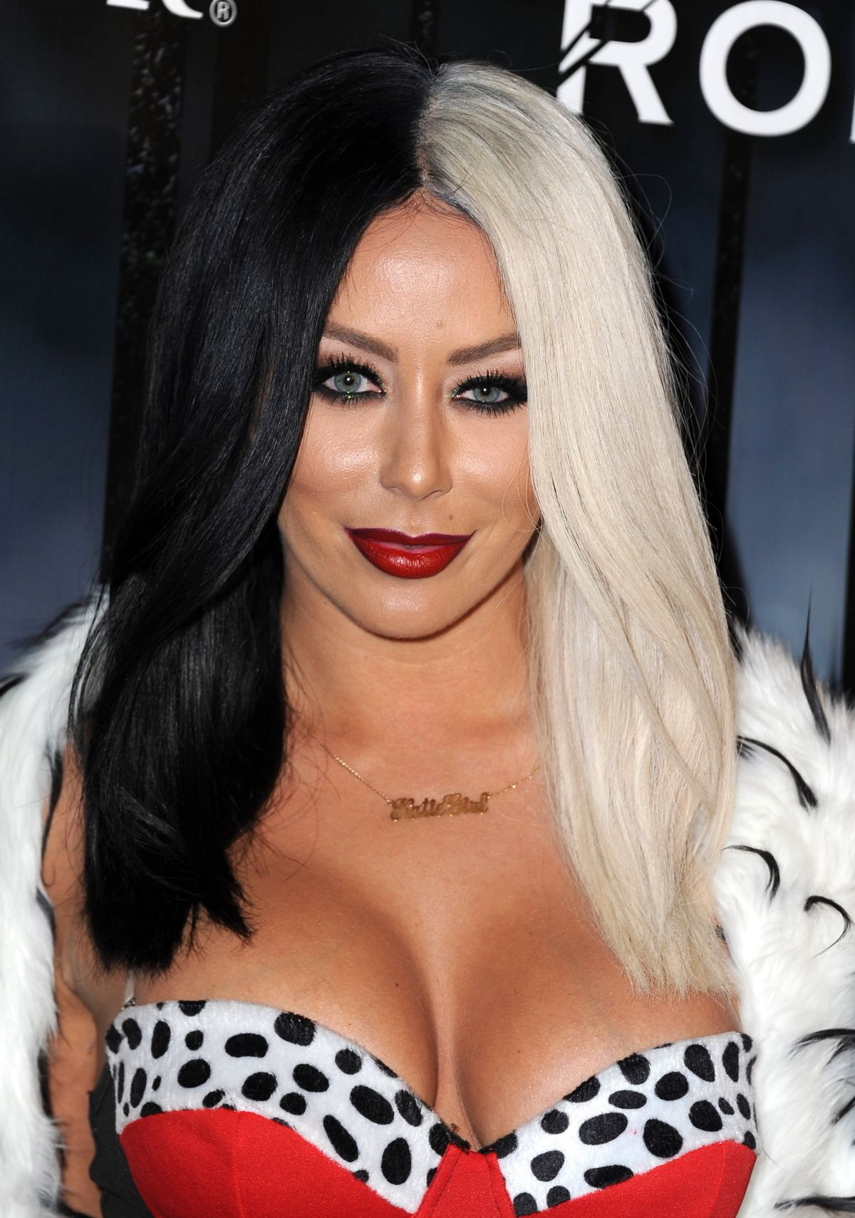 AUBREY O'DAY at Maxim Magazine's Official Halloween Party in