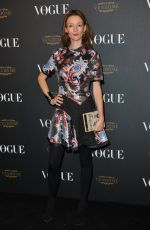AUDREY MATNAY at Vogue's 95th Anniversary Party in Paris 10/03/2015